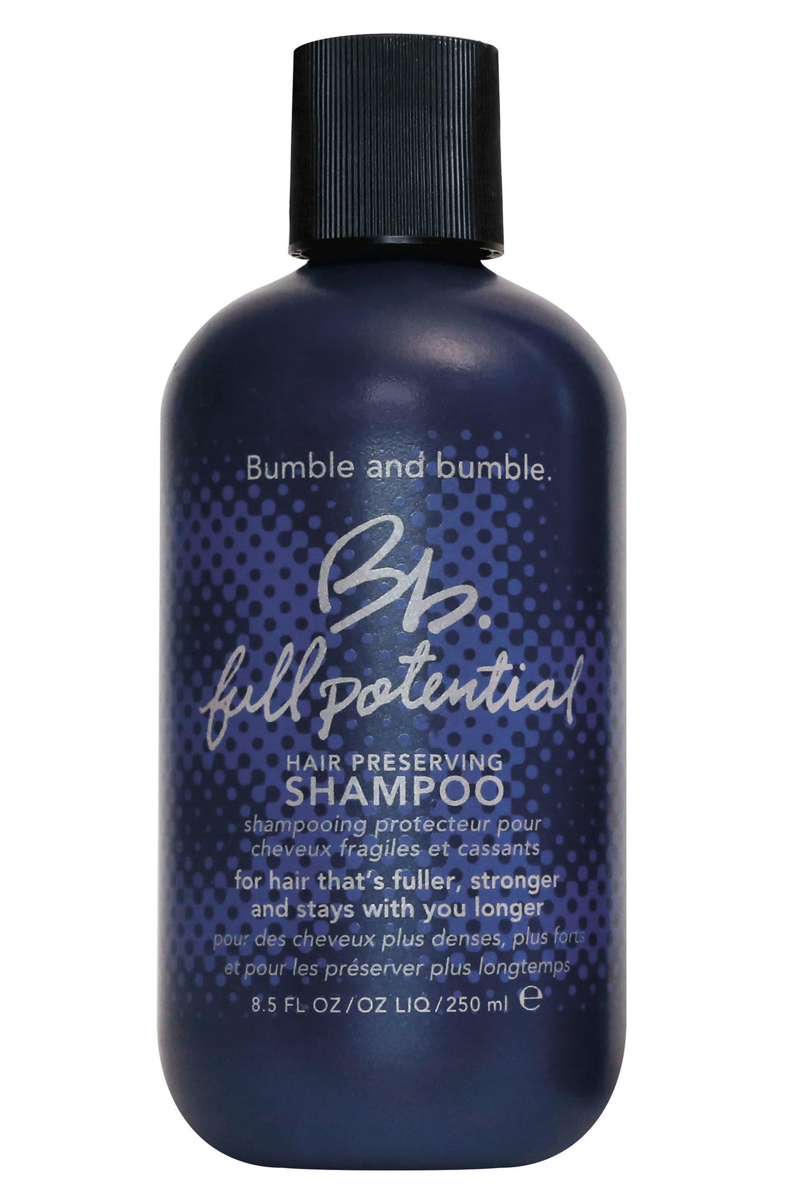 BUMBLE AND BUMBLE. Bumble and bumble Full Potential Shampoo, Main, color, NO COLOR