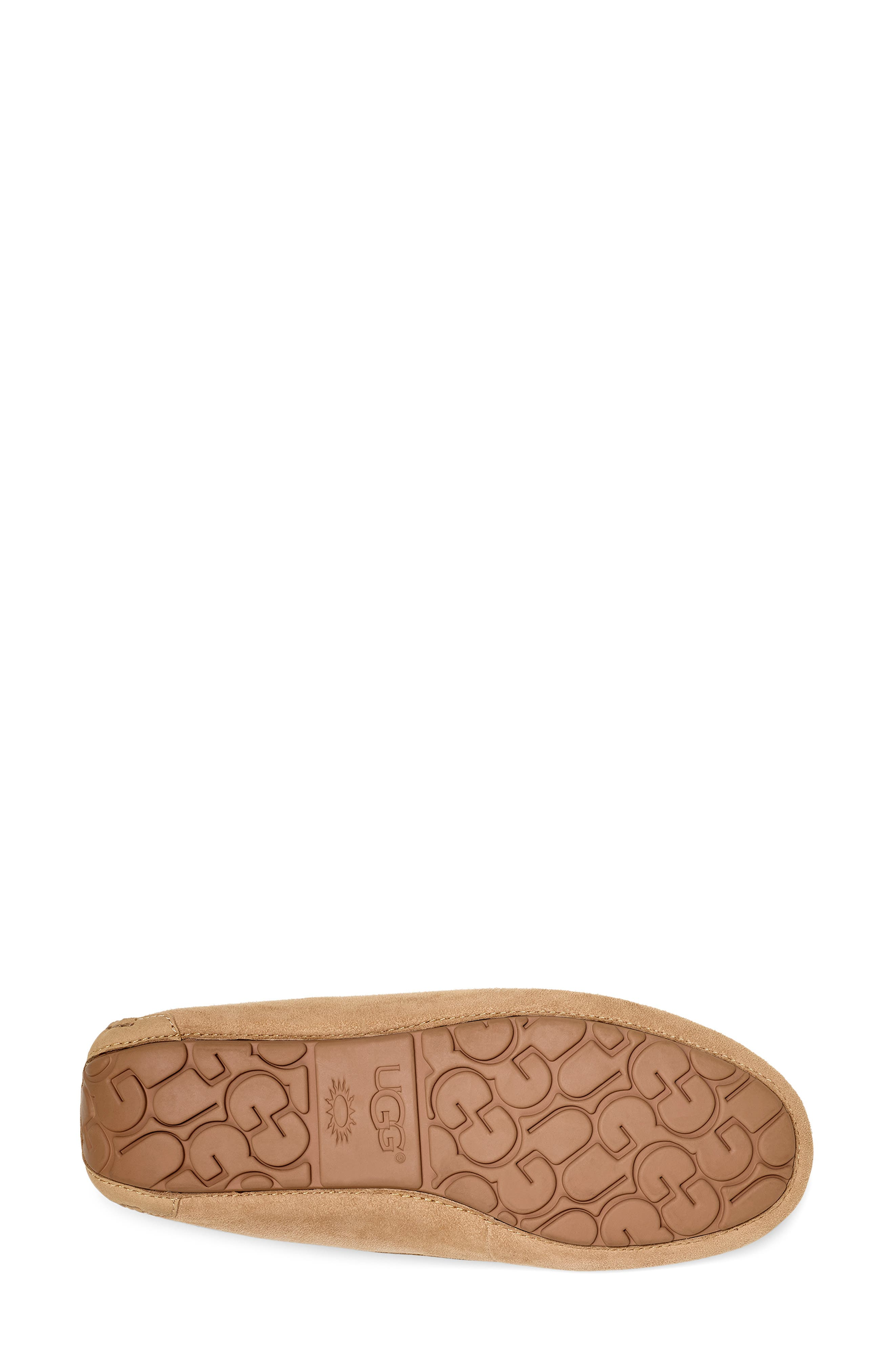 UGG<SUP>®</SUP>, Ansley 40:40:40 Anniversary Slipper, Alternate thumbnail 5, color, SAND