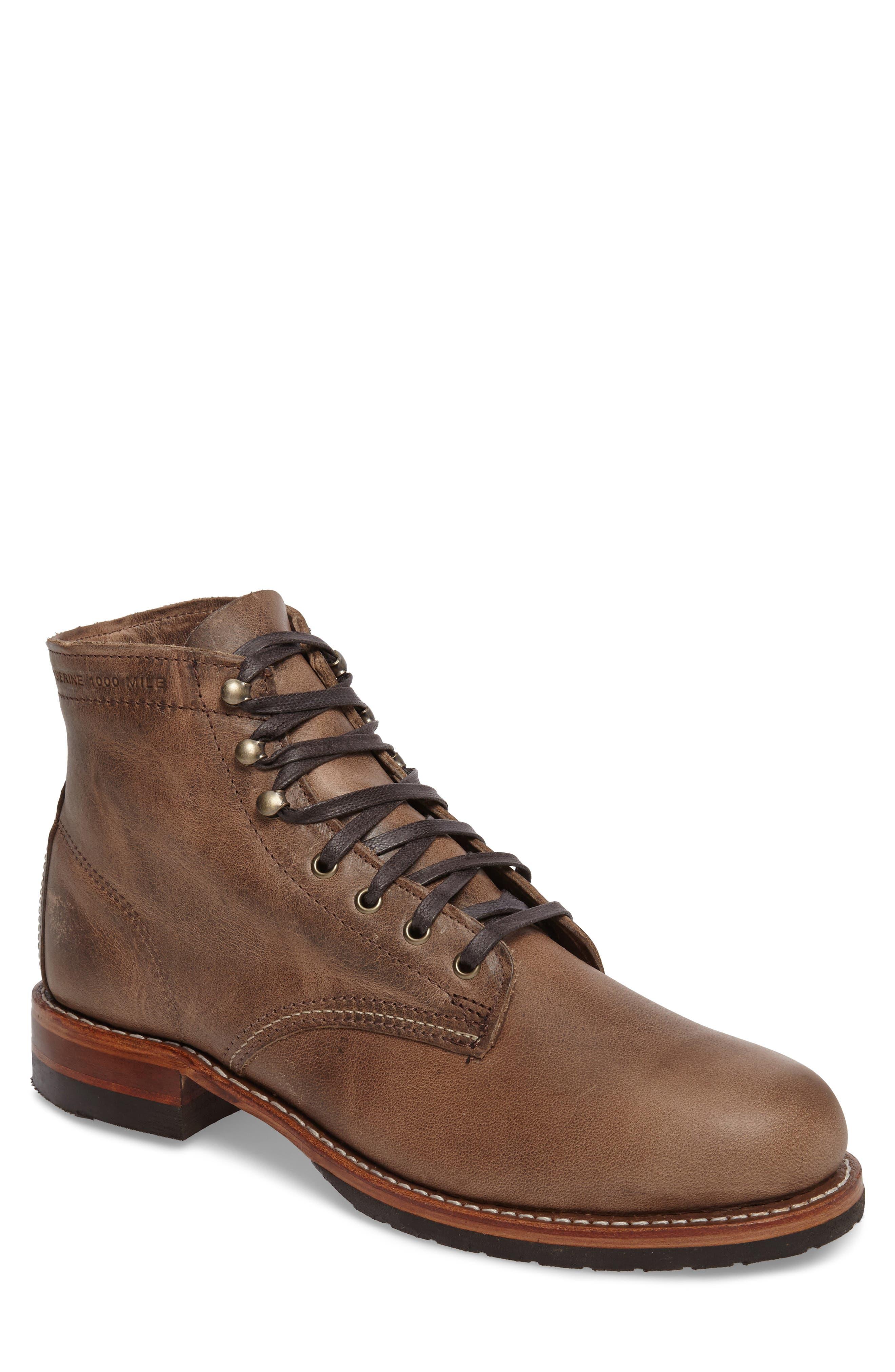 Wolverine Evans Plain Toe Boot