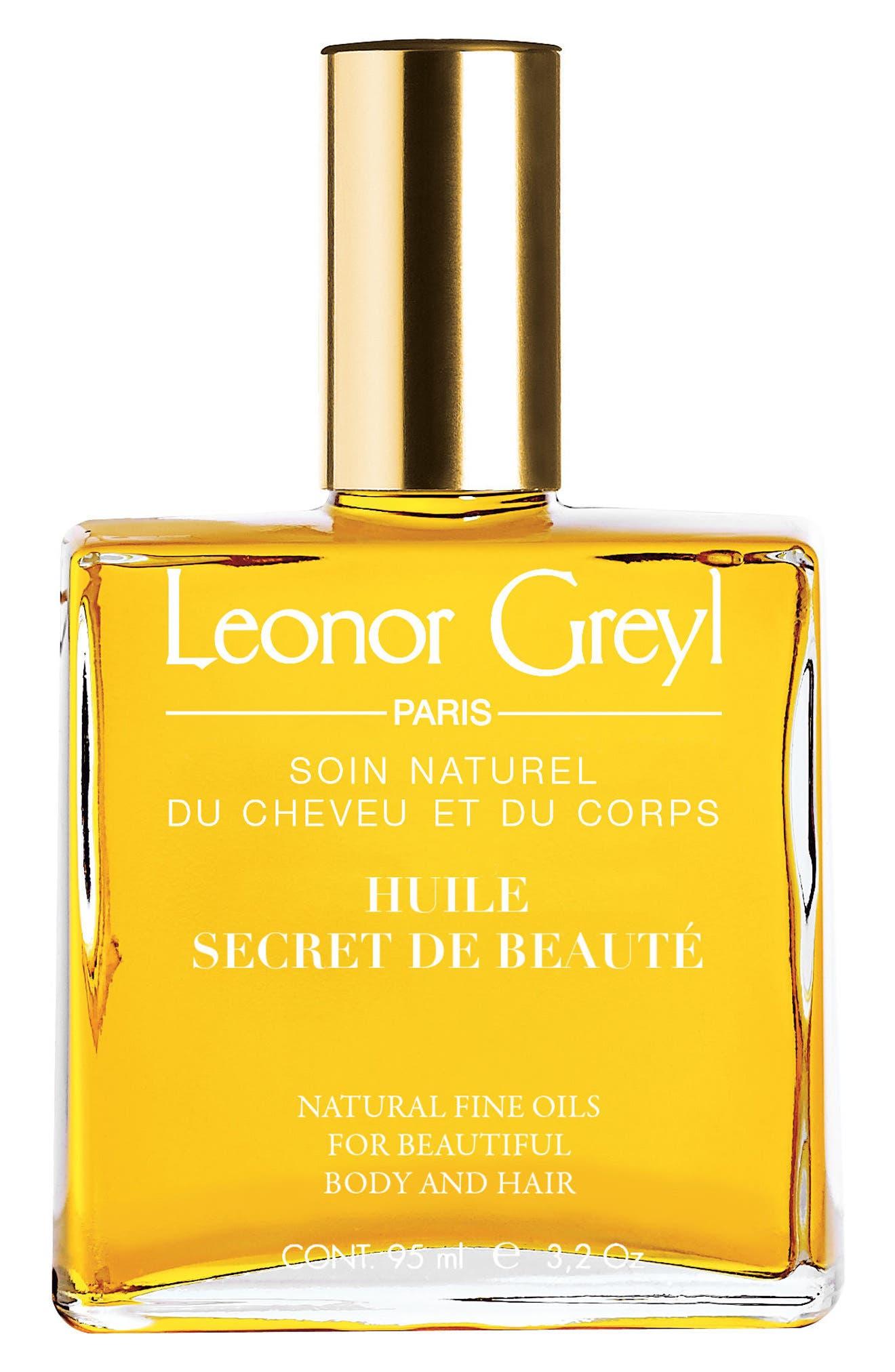 LEONOR GREYL PARIS, Huile Secret de Beauté Hair & Skin Oil, Main thumbnail 1, color, NO COLOR