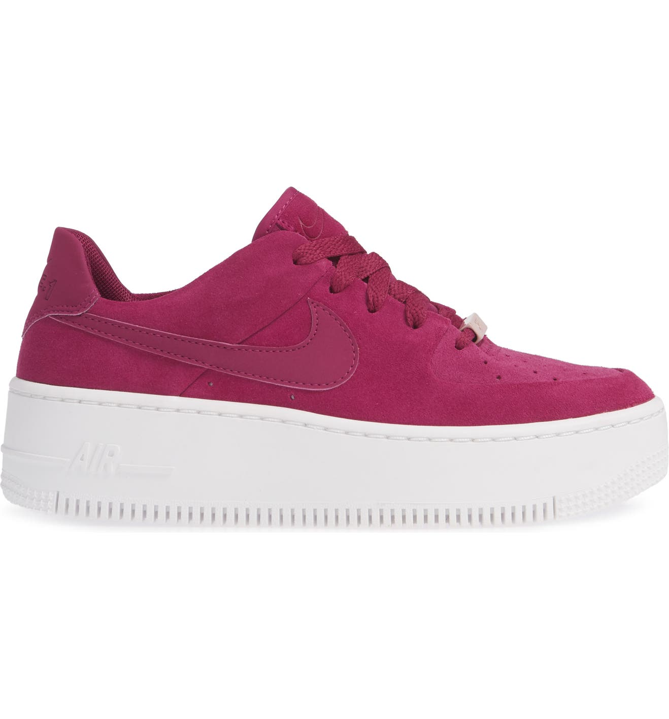 cb5acbf0fa4 Nike Air Force 1 Sage Low Platform Sneaker (Women)