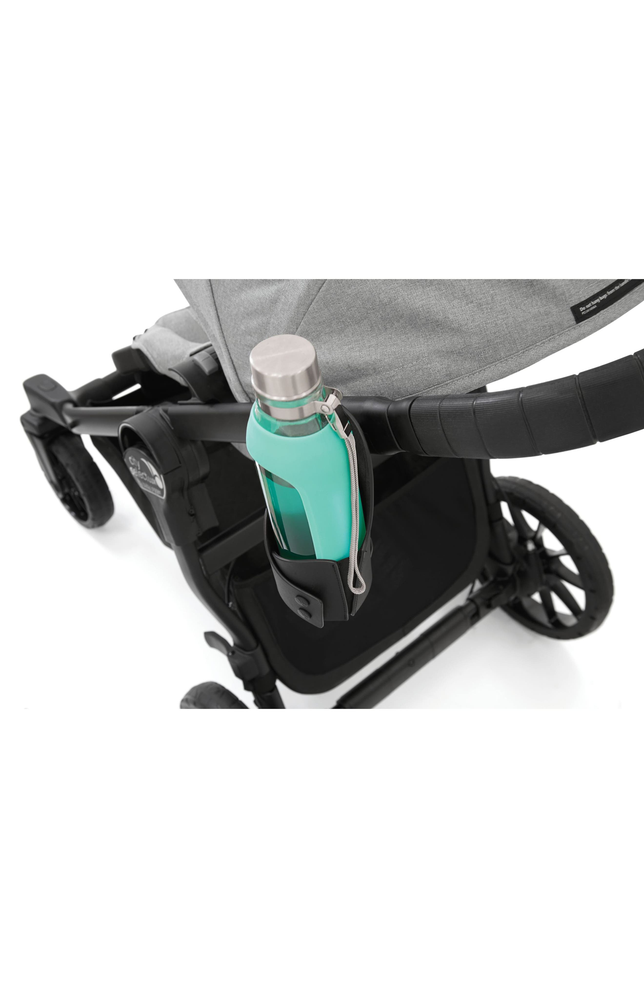 BABY JOGGER, Lux Cup Holder For City Select<sup>®</sup> Stroller, Alternate thumbnail 3, color, BLACK