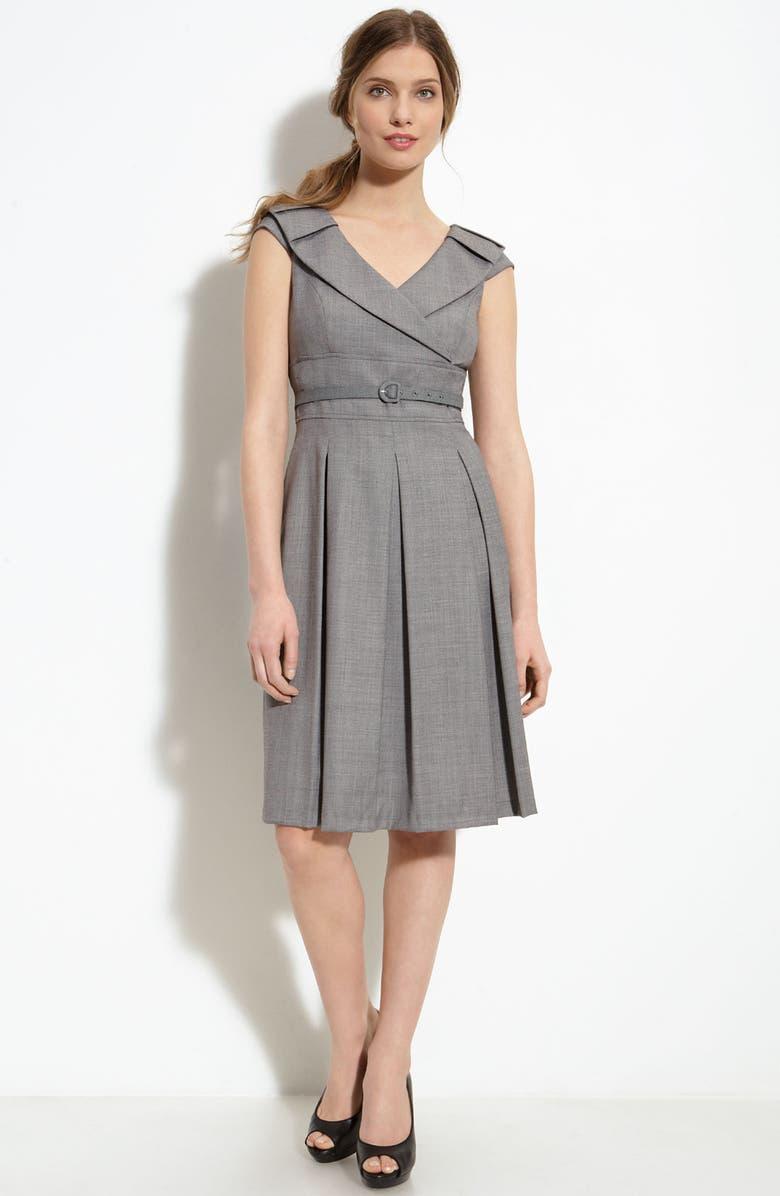 c1c9b5eefcae Tahari by Arthur S. Levine Belted Dress (Petite) | Nordstrom