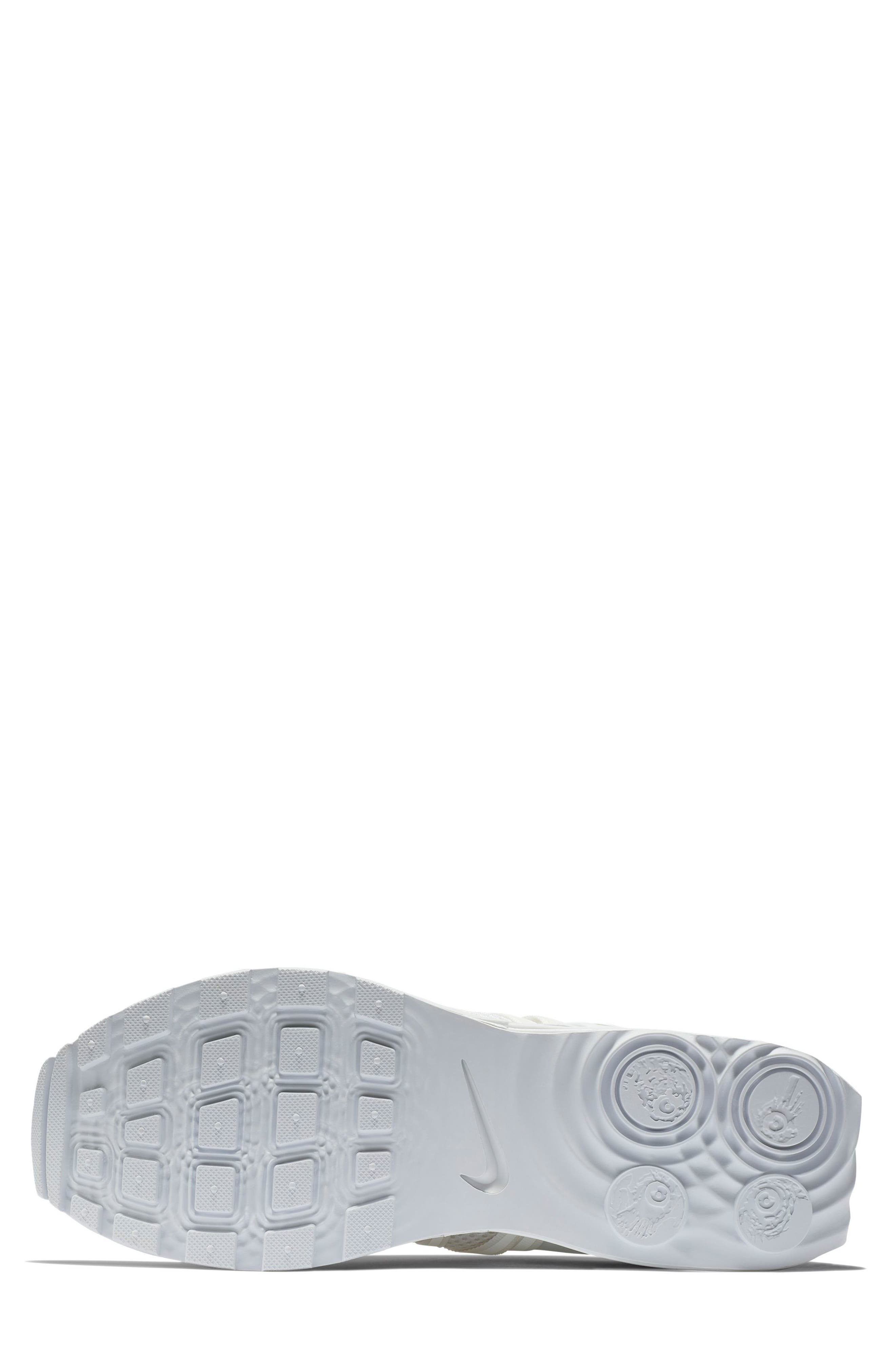 NIKE, Shox Gravity Sneaker, Alternate thumbnail 5, color, 100