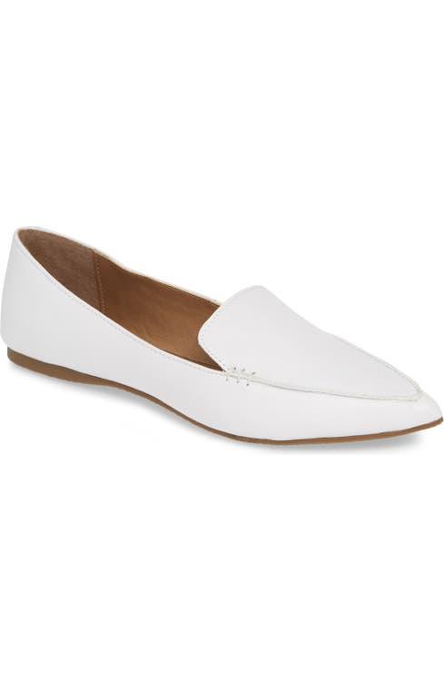 24aa44f9f4b Steve Madden Feather Loafer Flat (Women)