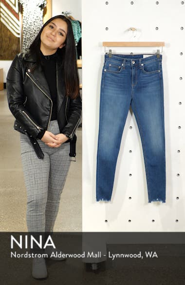 Cate High Waist Ankle Skinny Jeans, sales video thumbnail