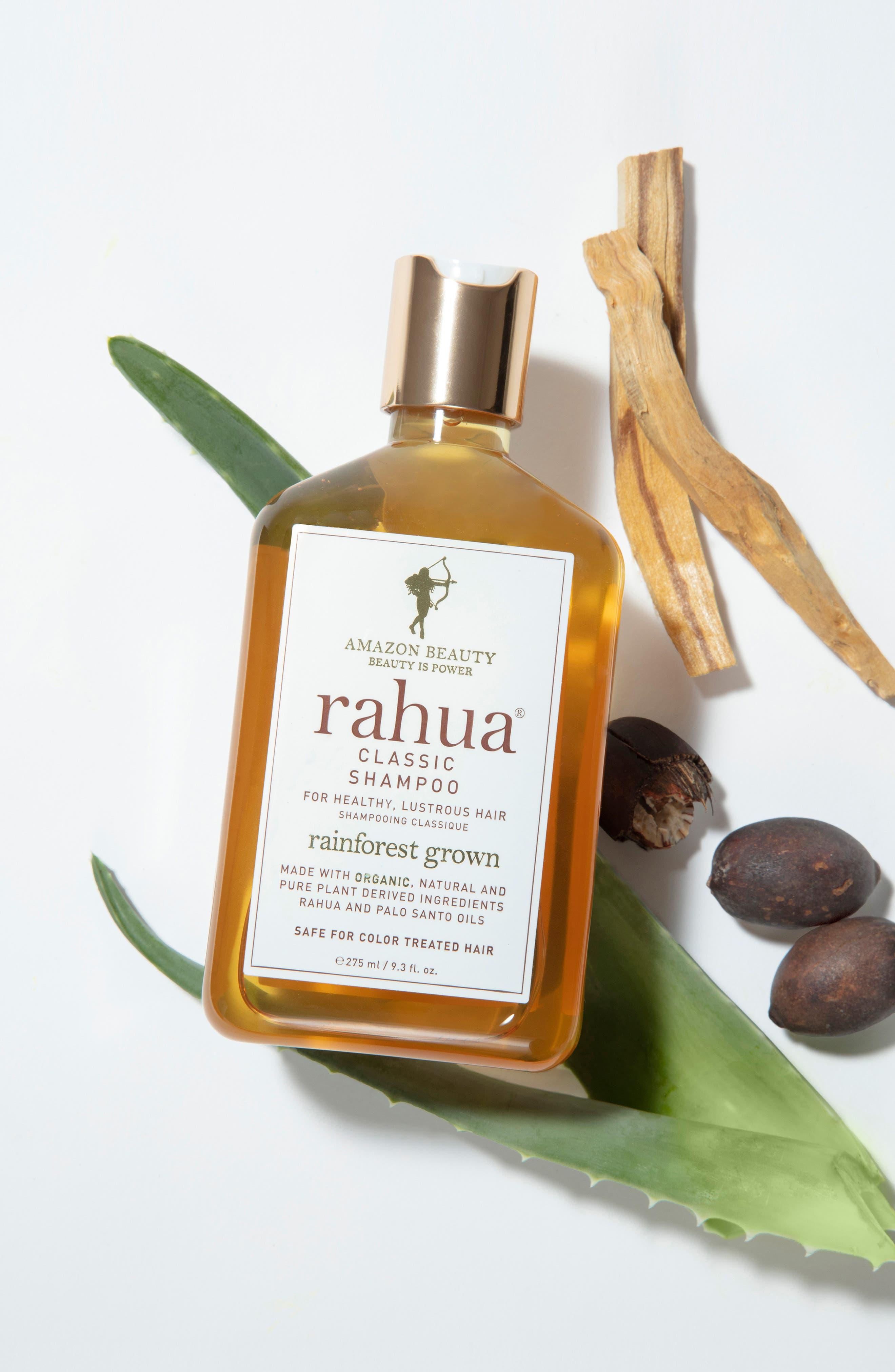 RAHUA<SUP>®</SUP>, SPACE.NK.apothecary rahua<sup>®</sup> Classic Shampoo, Alternate thumbnail 4, color, NO COLOR