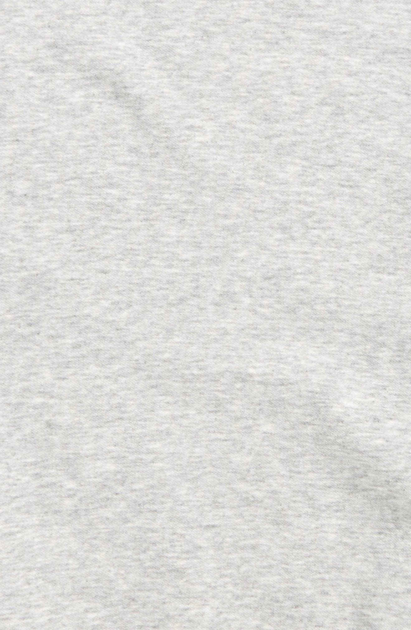 ZELLA GIRL, Split Knit Tunic Top, Alternate thumbnail 2, color, GREY ASH HEATHER