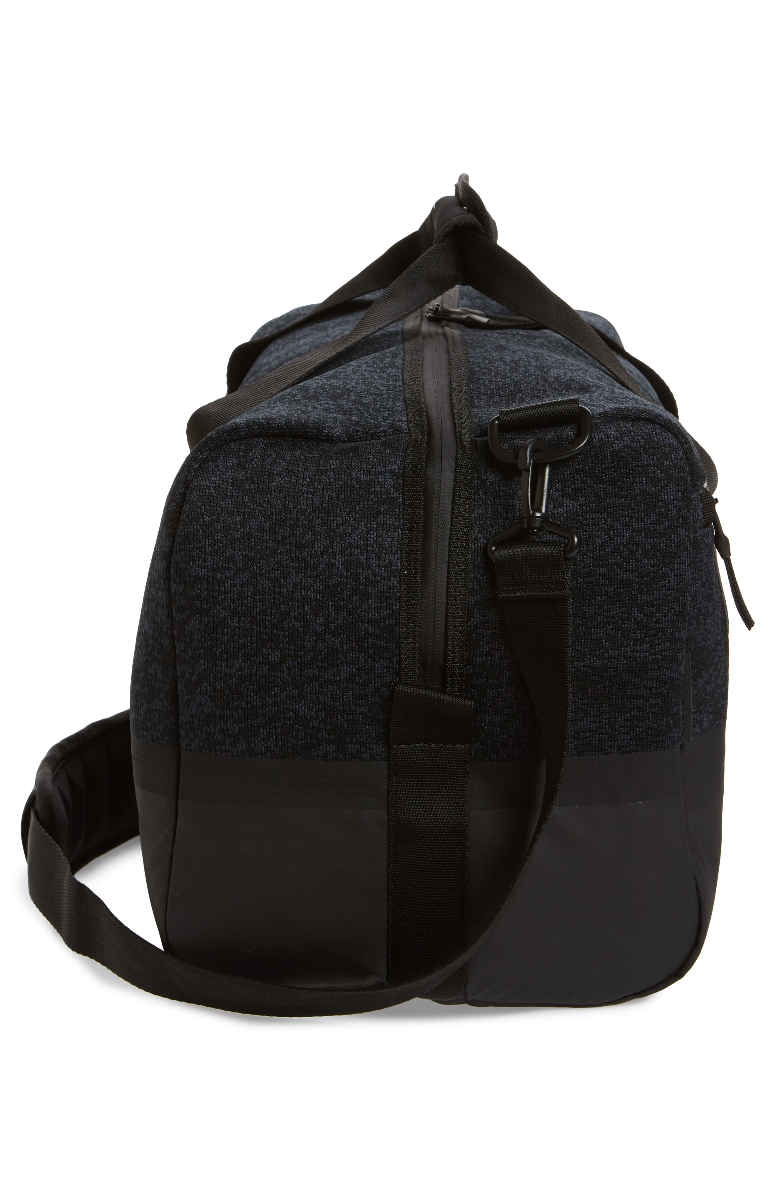 ADIDAS ORIGINALS, PK Amplifier Duffle Bag, Alternate thumbnail 5, color, GREY/ BLACK