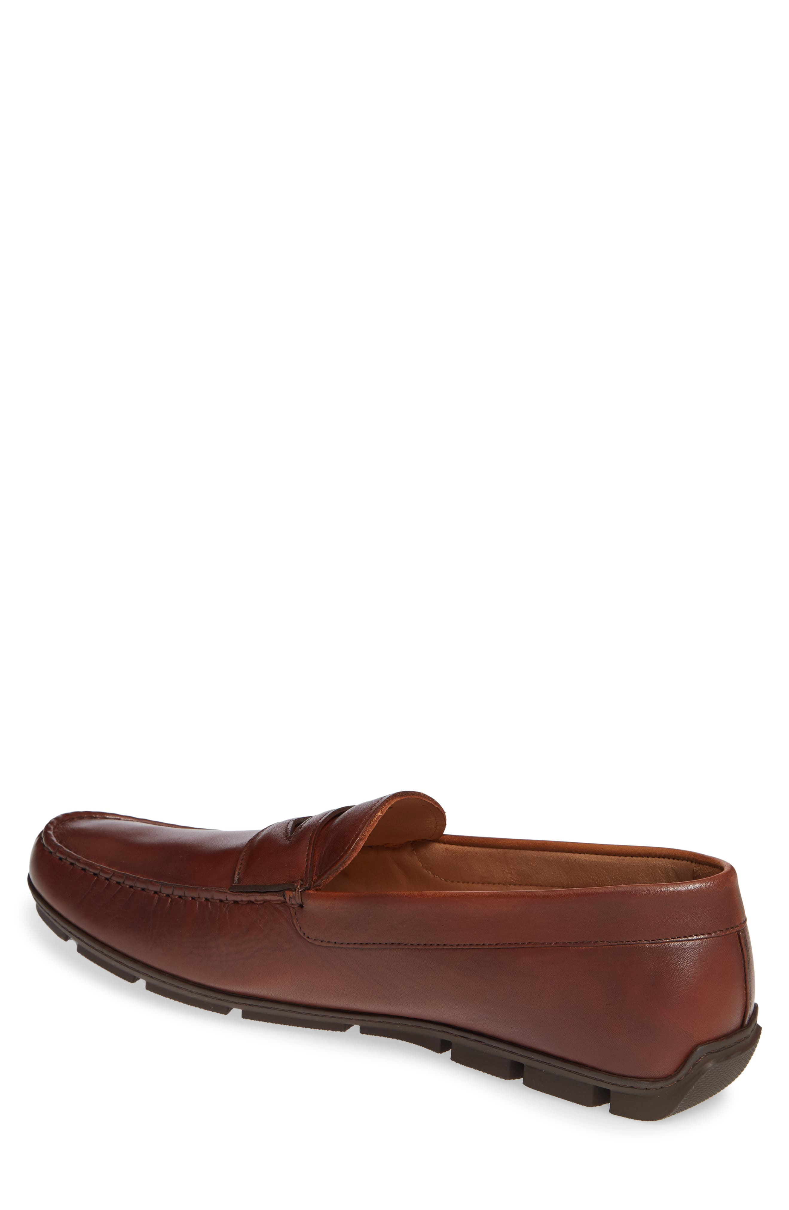 VINCE CAMUTO, Ditto Driving Shoe, Alternate thumbnail 2, color, COGNAC LEATHER