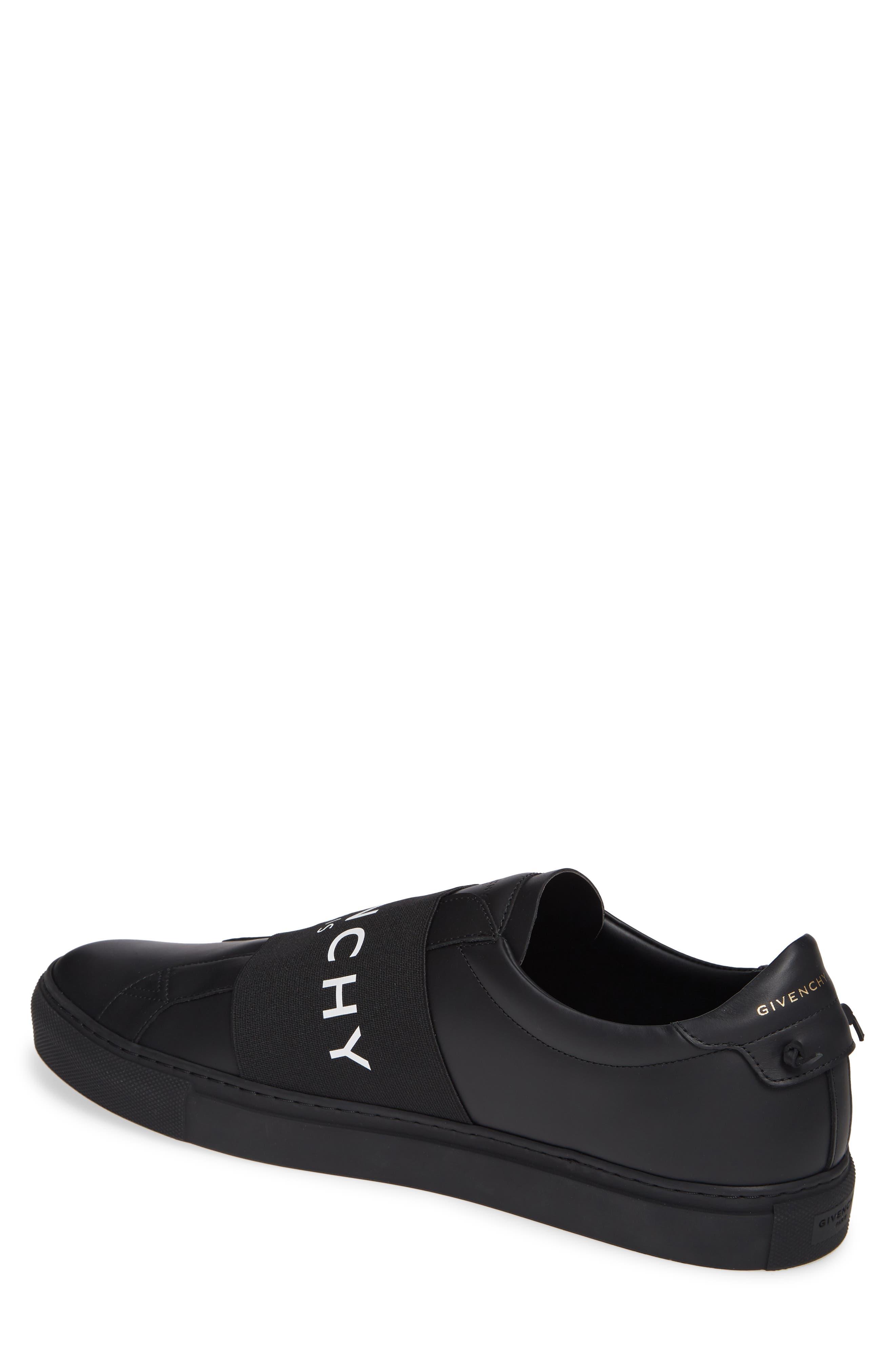 GIVENCHY, Urban Knots Sneaker, Alternate thumbnail 2, color, BLACK