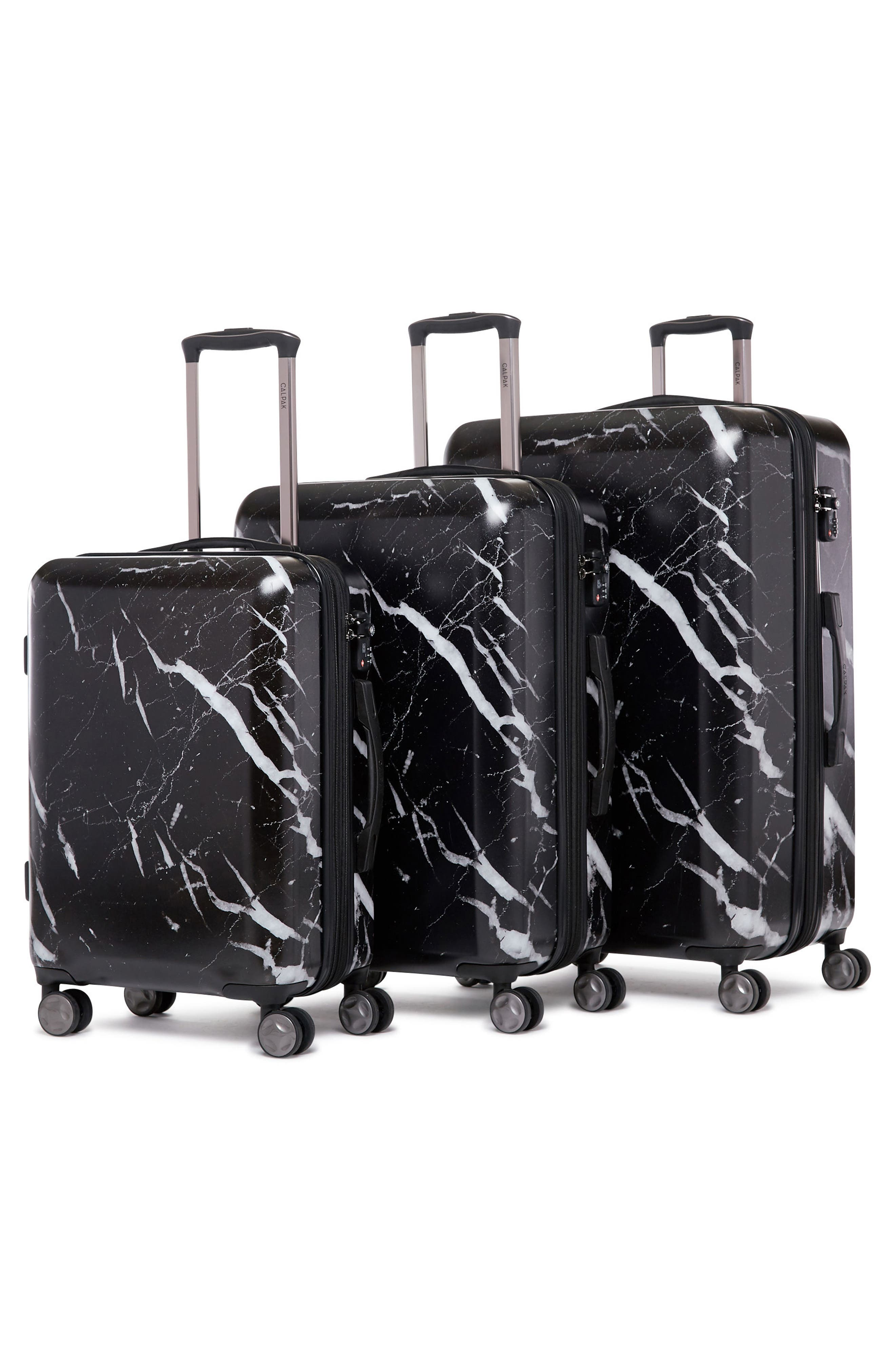 CALPAK, Astyll 22-Inch Rolling Spinner Suitcase, Alternate thumbnail 7, color, MIDNIGHT MARBLE