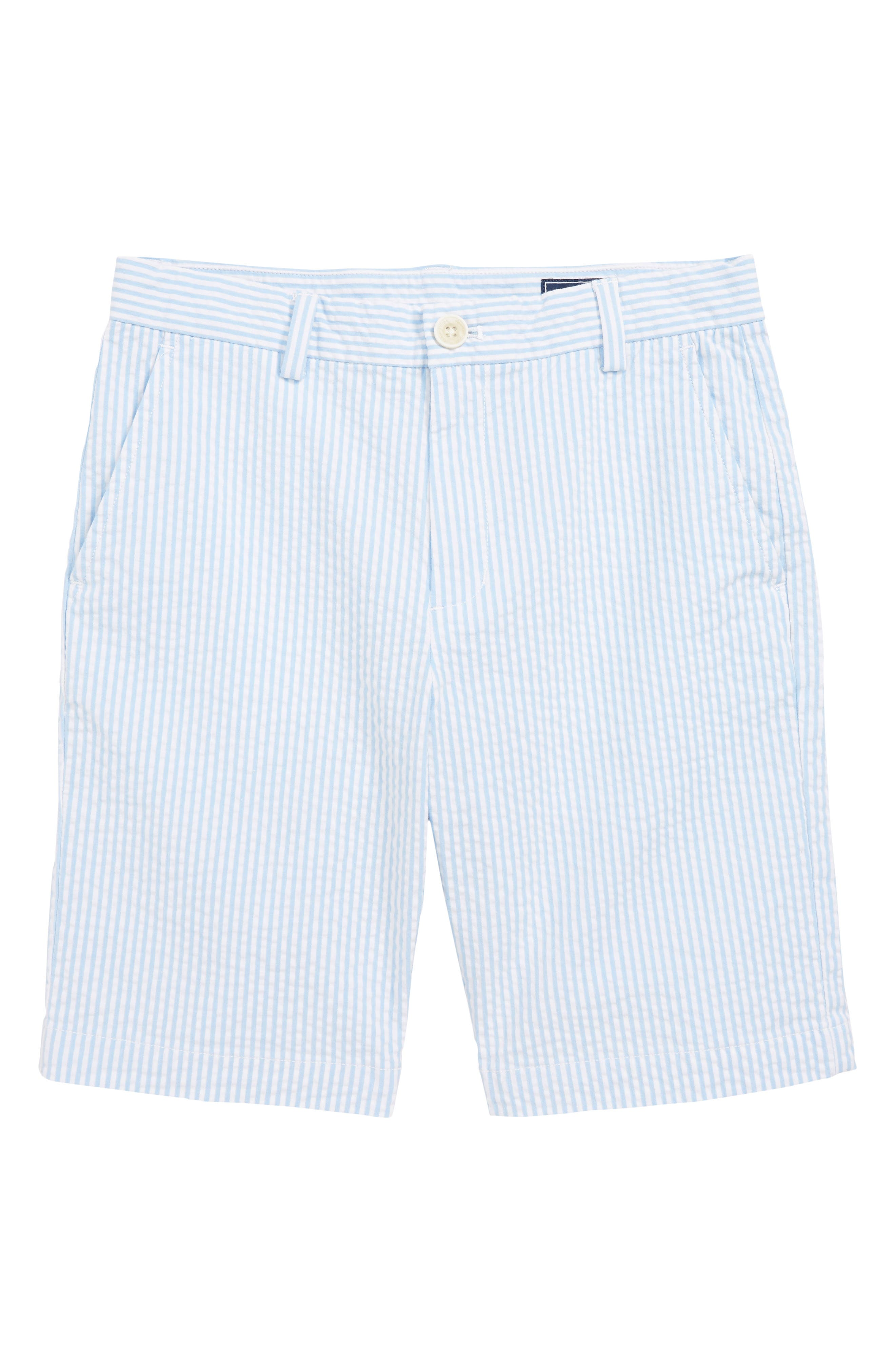 Toddler Boys Vineyard Vines Breaker Seersucker Shorts Size 4T  Blue