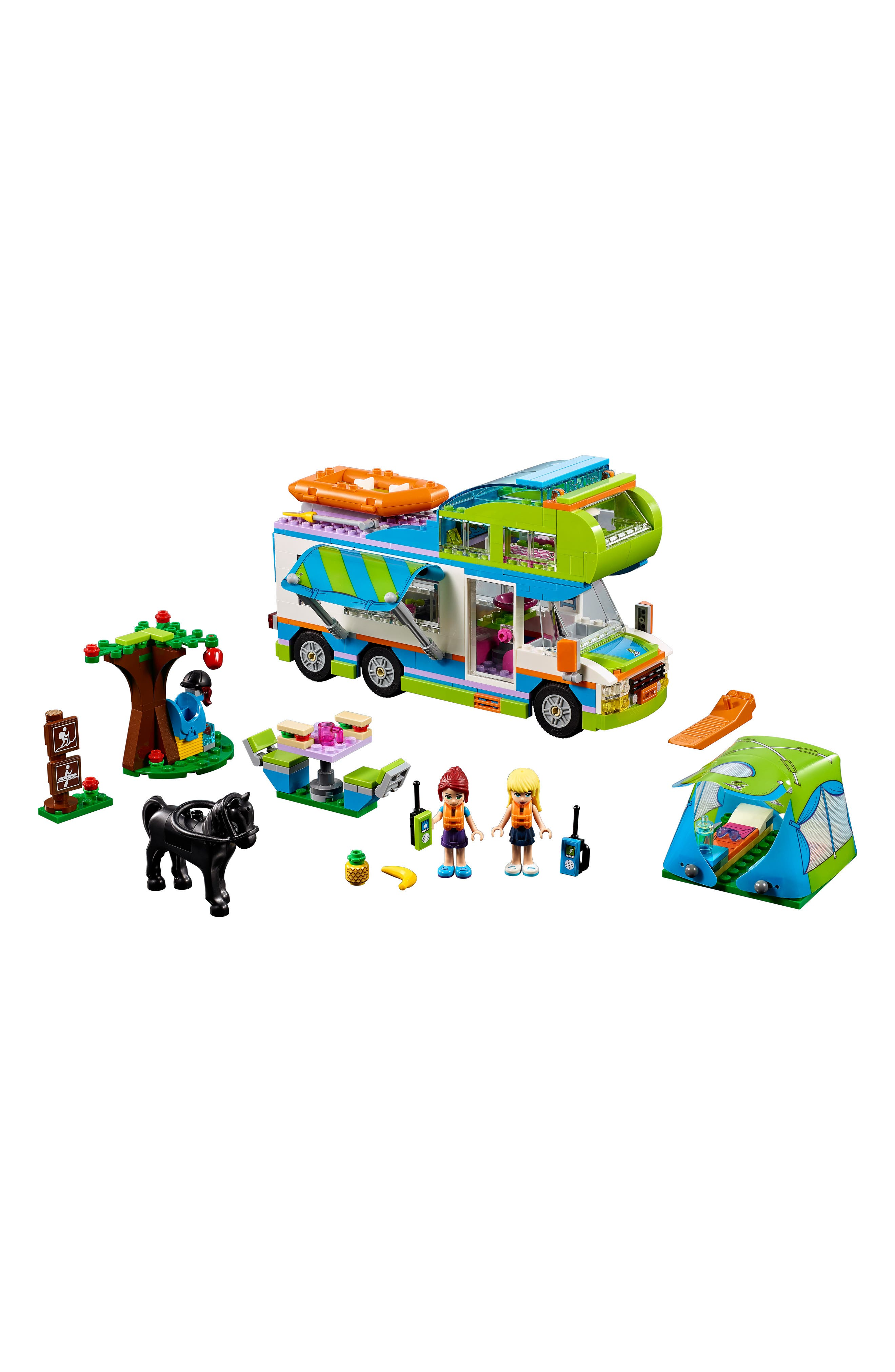 LEGO<SUP>®</SUP>, Friends Mia's Camper Van - 41339, Main thumbnail 1, color, MULTI