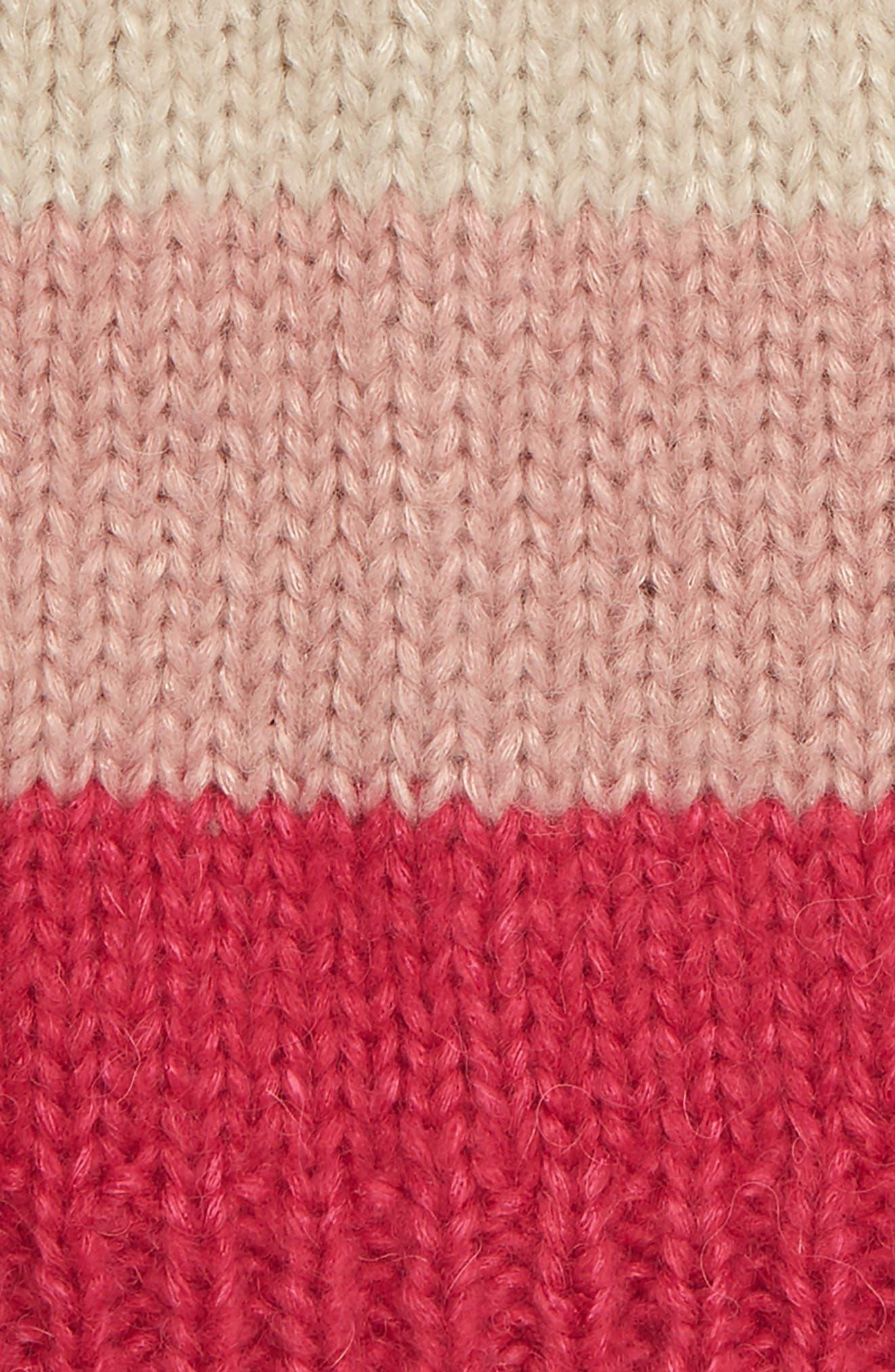 KATE SPADE NEW YORK, colorblock beanie, Alternate thumbnail 2, color, 658