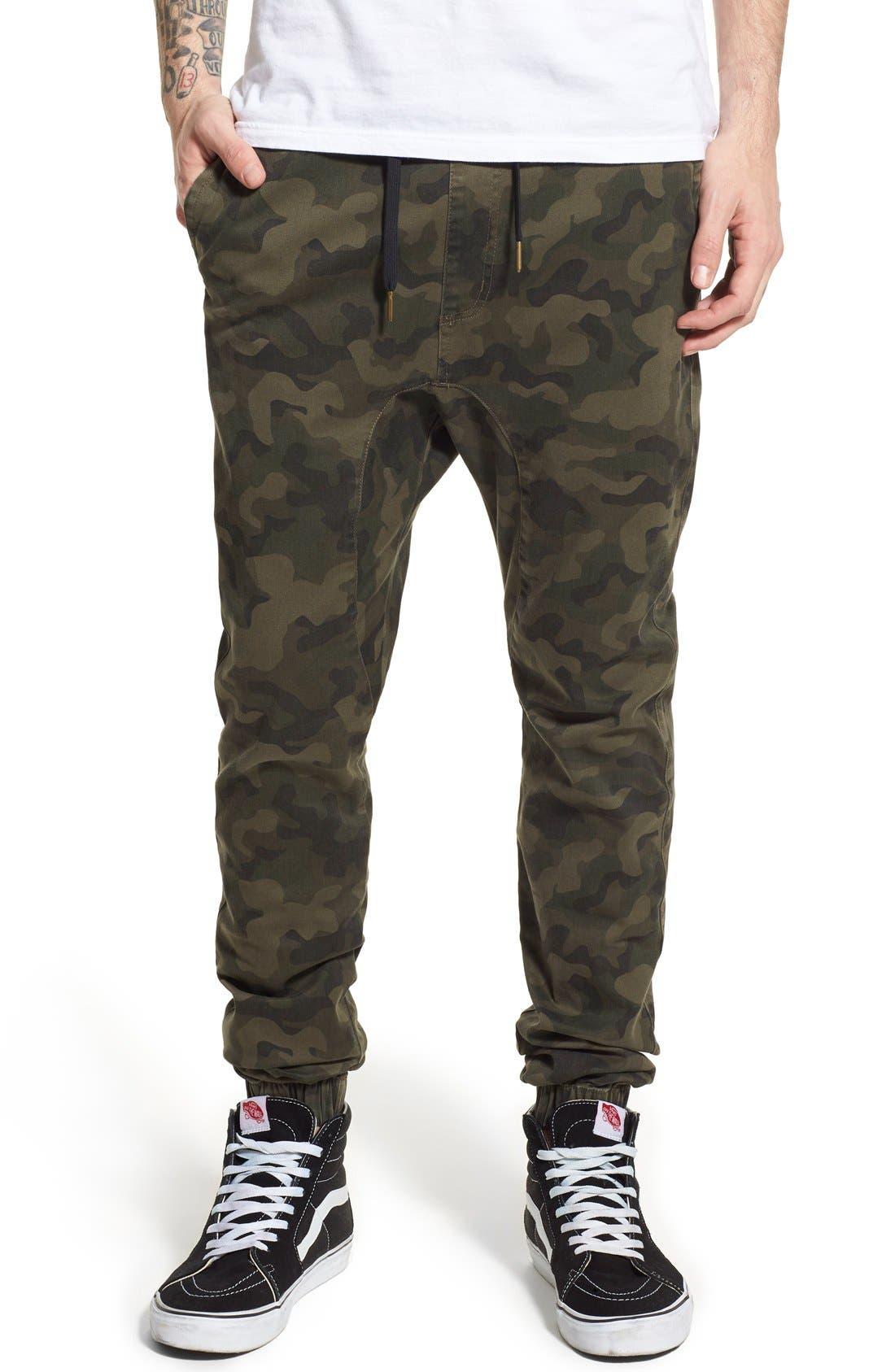 ZANEROBE Sureshot Jogger Pants, Main, color, CAMO