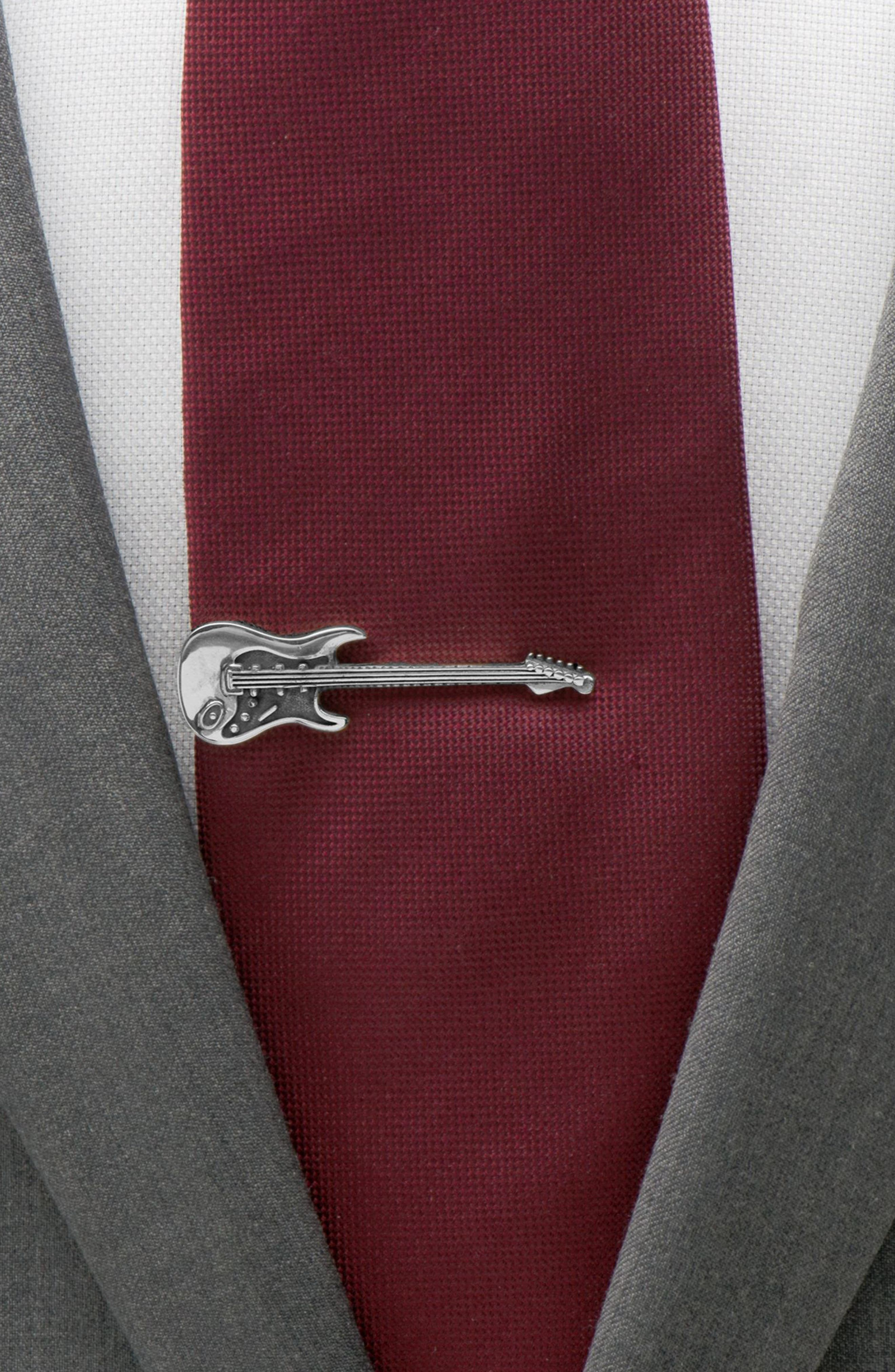 OX AND BULL TRADING CO., Guitar Tie Clip, Alternate thumbnail 3, color, 040