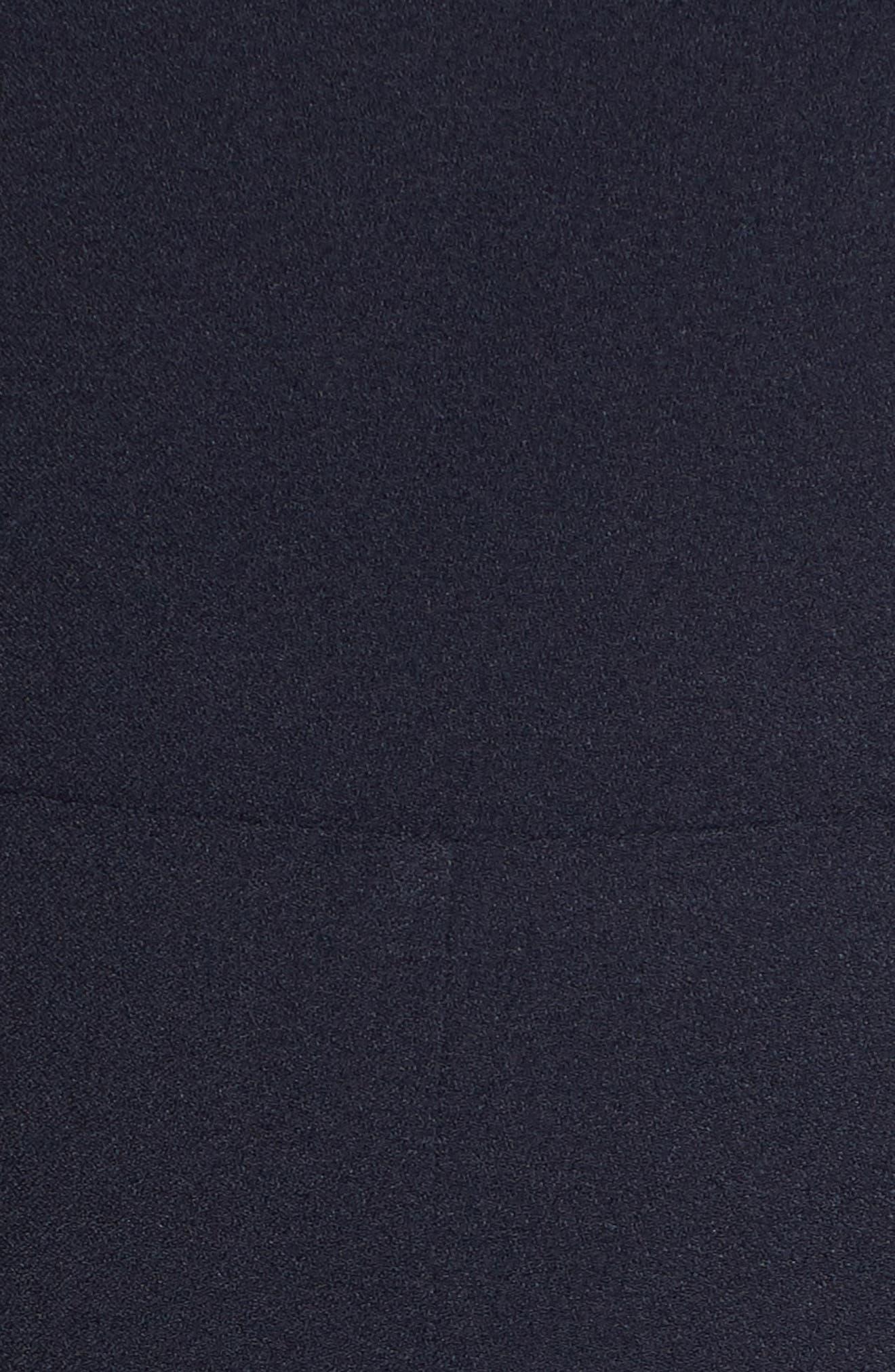 CHELSEA28, Pleated Shoulder Crop Jumpsuit, Alternate thumbnail 6, color, NAVY SAPPHIRE