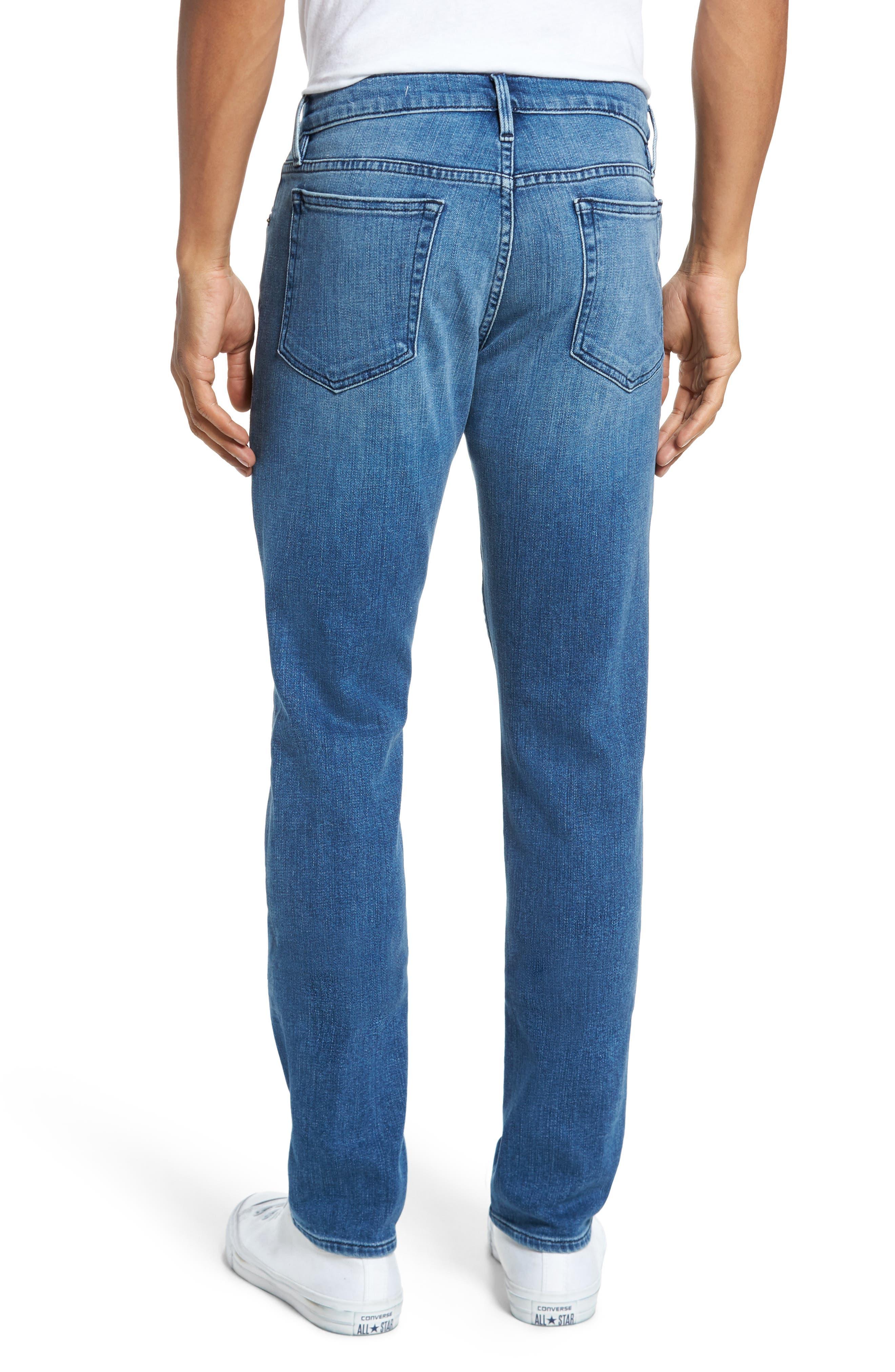 FRAME, L'Homme Slim Fit Jeans, Alternate thumbnail 2, color, BRADBURY