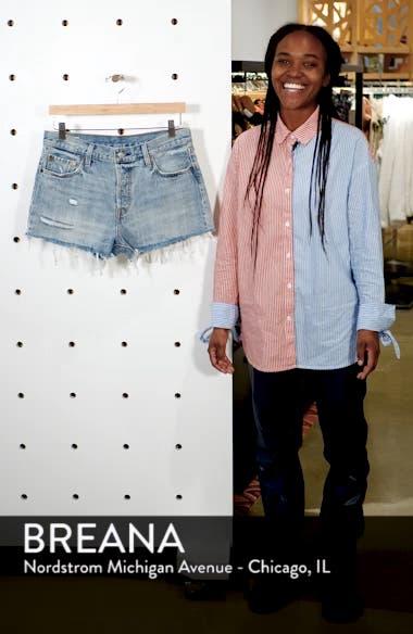 '501<sup>®</sup>' Cutoff Denim Shorts, sales video thumbnail