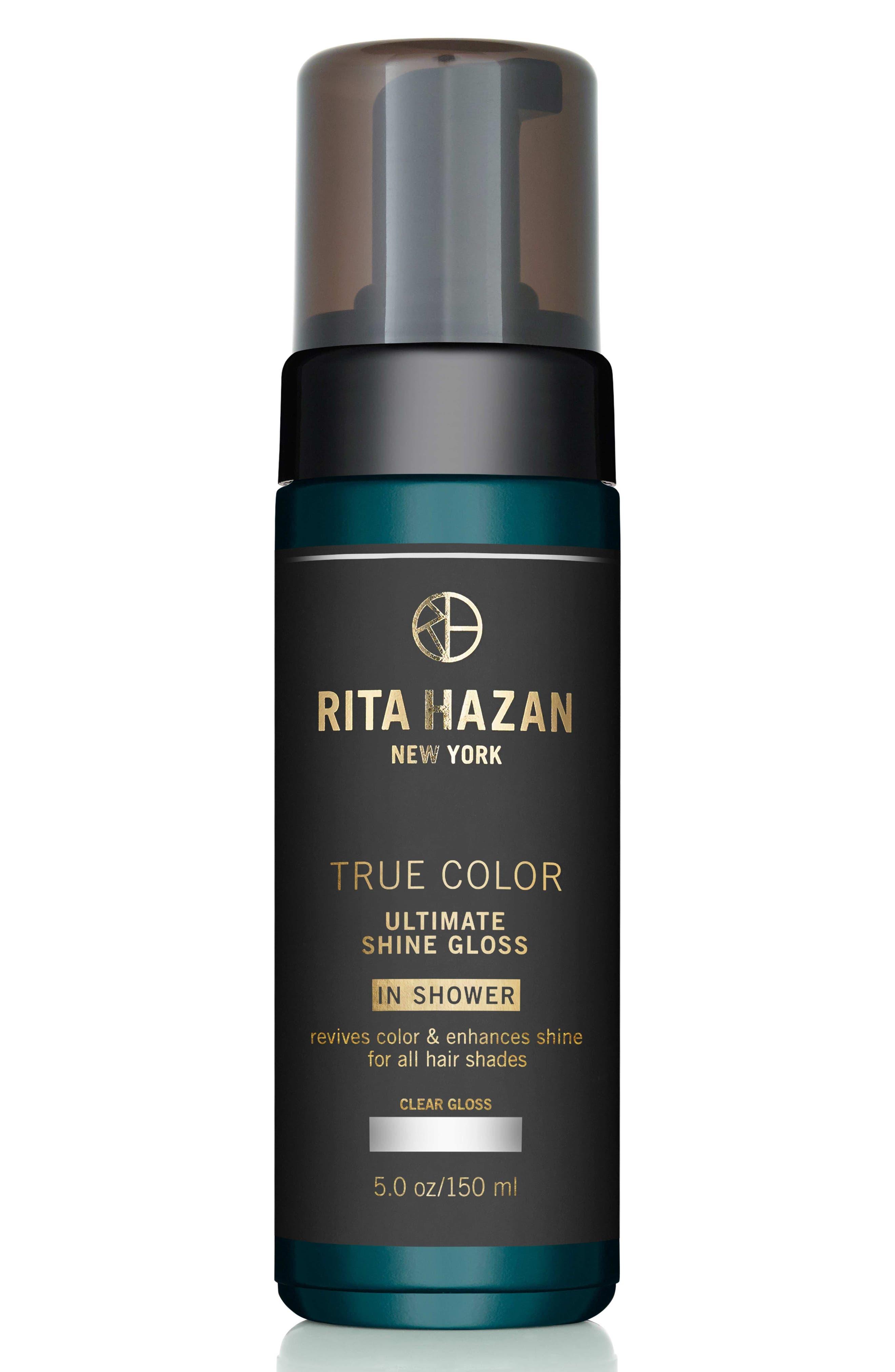 RITA HAZAN NEW YORK, 'True Color' Ultimate Shine Gloss, Main thumbnail 1, color, CLEAR