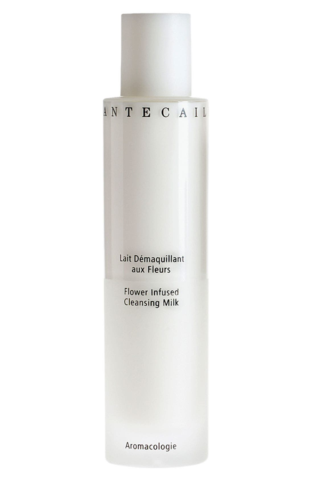 CHANTECAILLE, Flower Infused Cleansing Milk, Main thumbnail 1, color, NO COLOR