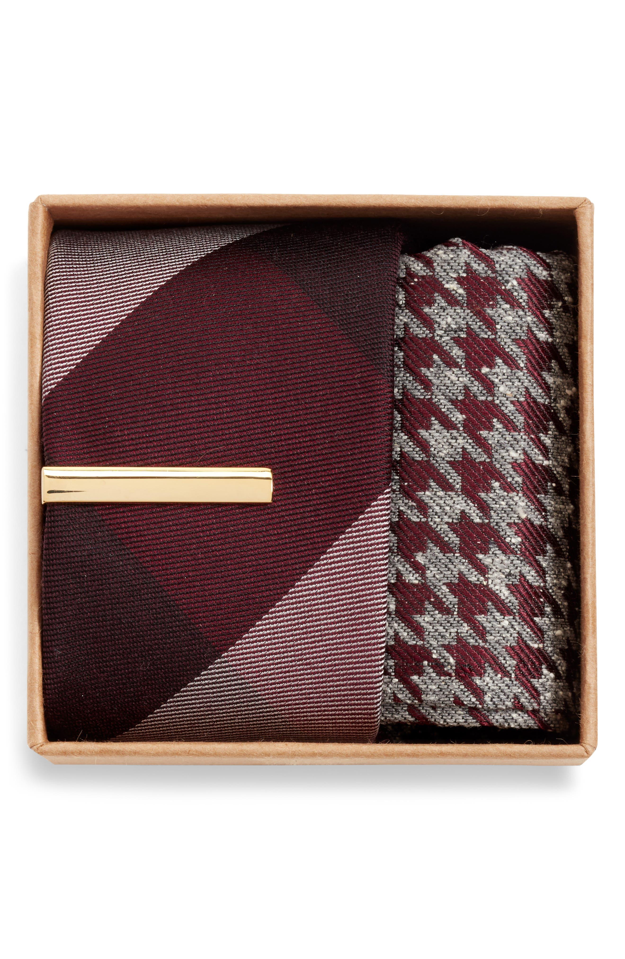 THE TIE BAR, West Bison Box Set, Alternate thumbnail 2, color, 930
