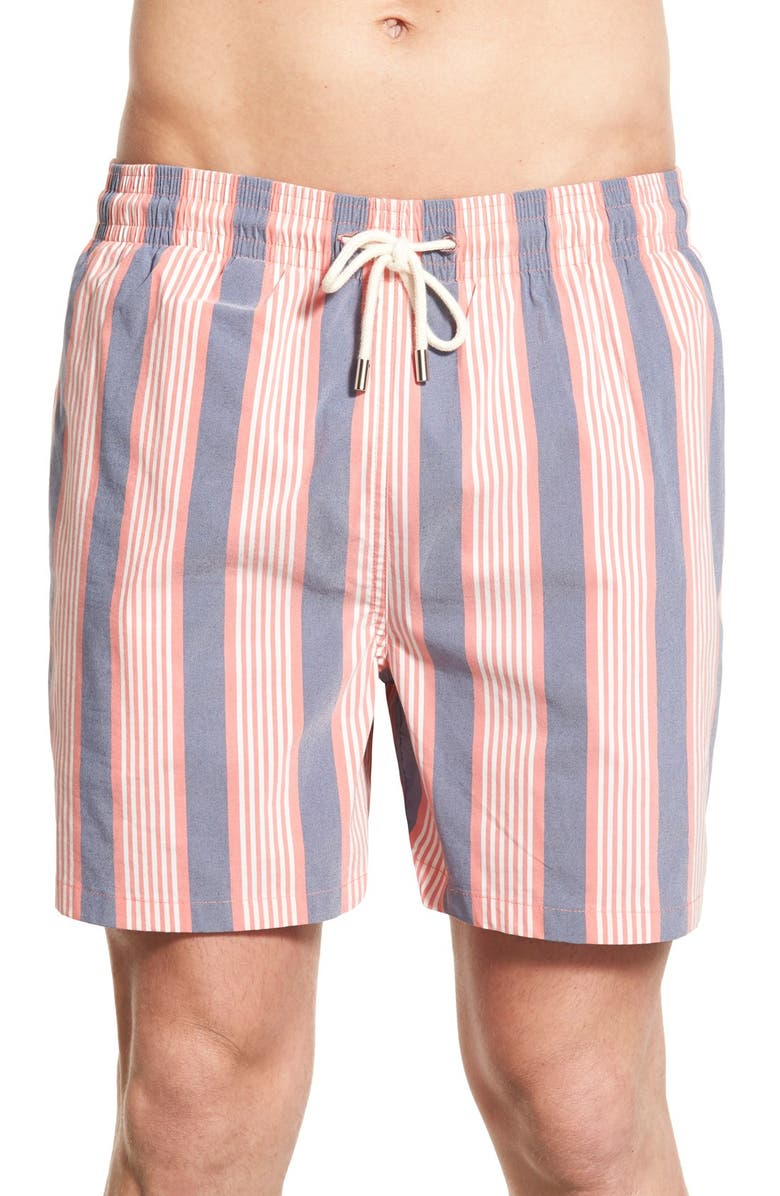 2e779ca289 Solid & Striped 'Classic Stripe' Swim Trunks | Nordstrom