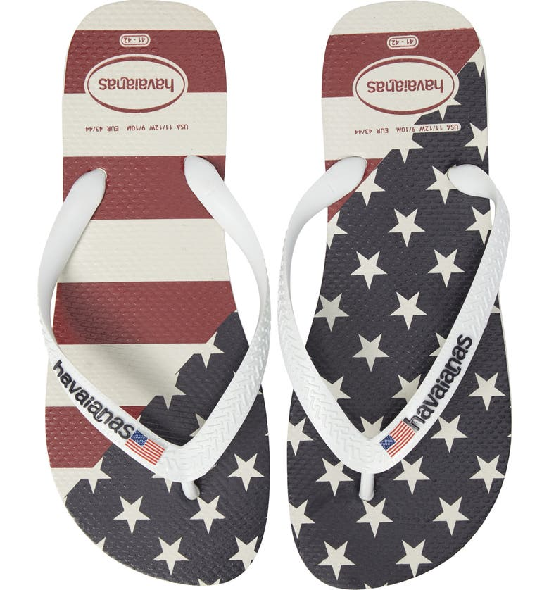 1d3ecf251 Havaianas Top Mix USA Flag Flip Flop (Men)