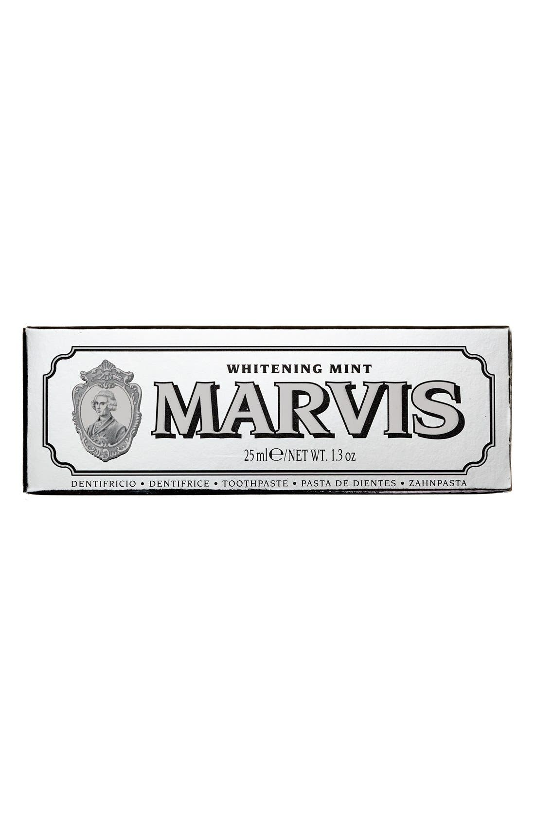 C.O. BIGELOW,  'Marvis' Whitening Mint Toothpaste, Alternate thumbnail 2, color, NO COLOR