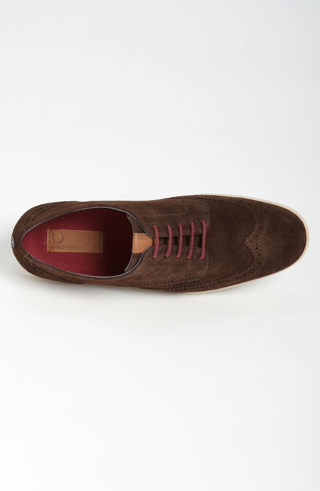 FRED PERRY, 'Jacobs' Wingtip, Alternate thumbnail 4, color, 201
