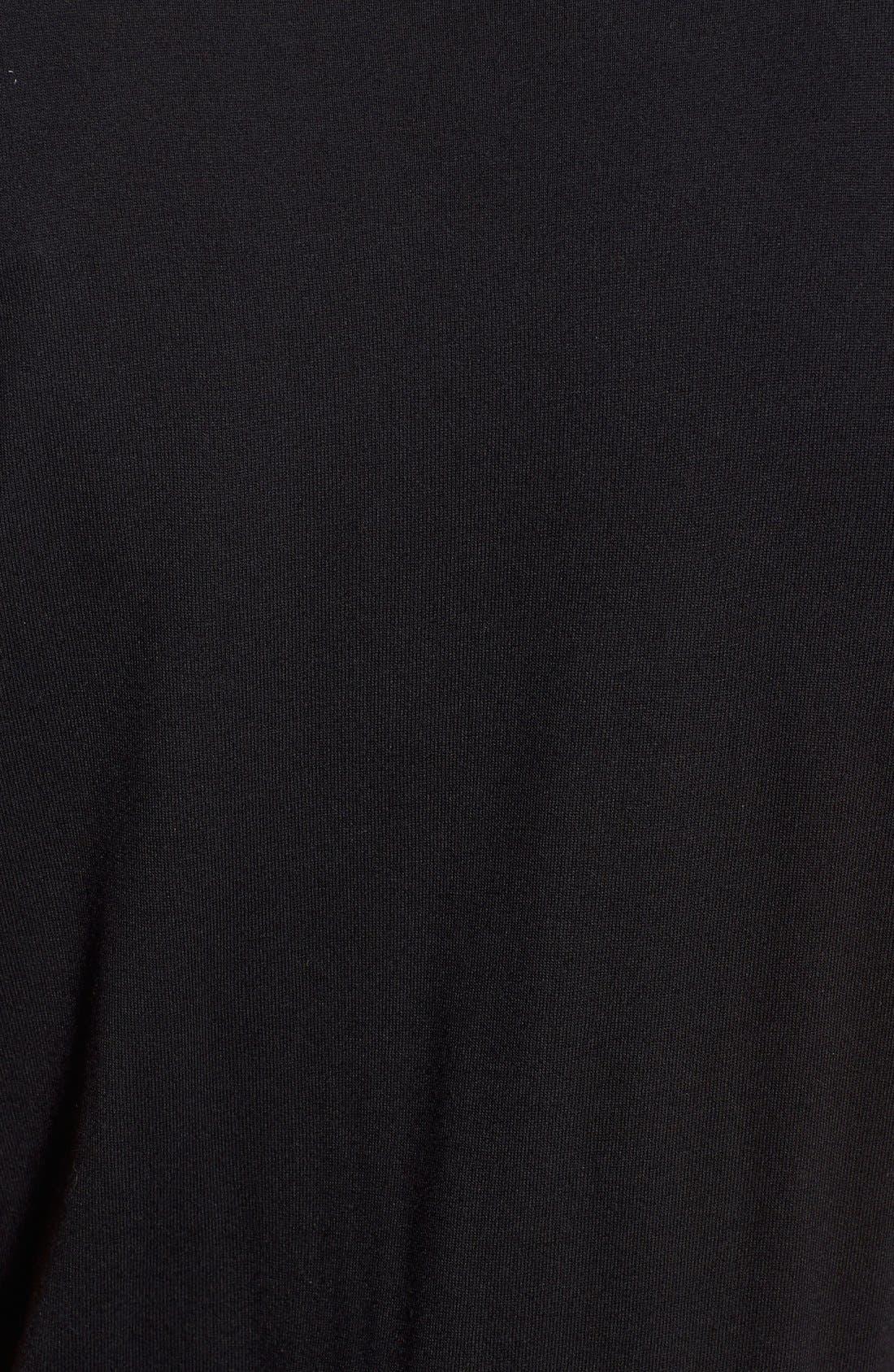 CASLON<SUP>®</SUP>, Drawstring Jersey Maxi Dress, Alternate thumbnail 11, color, 001