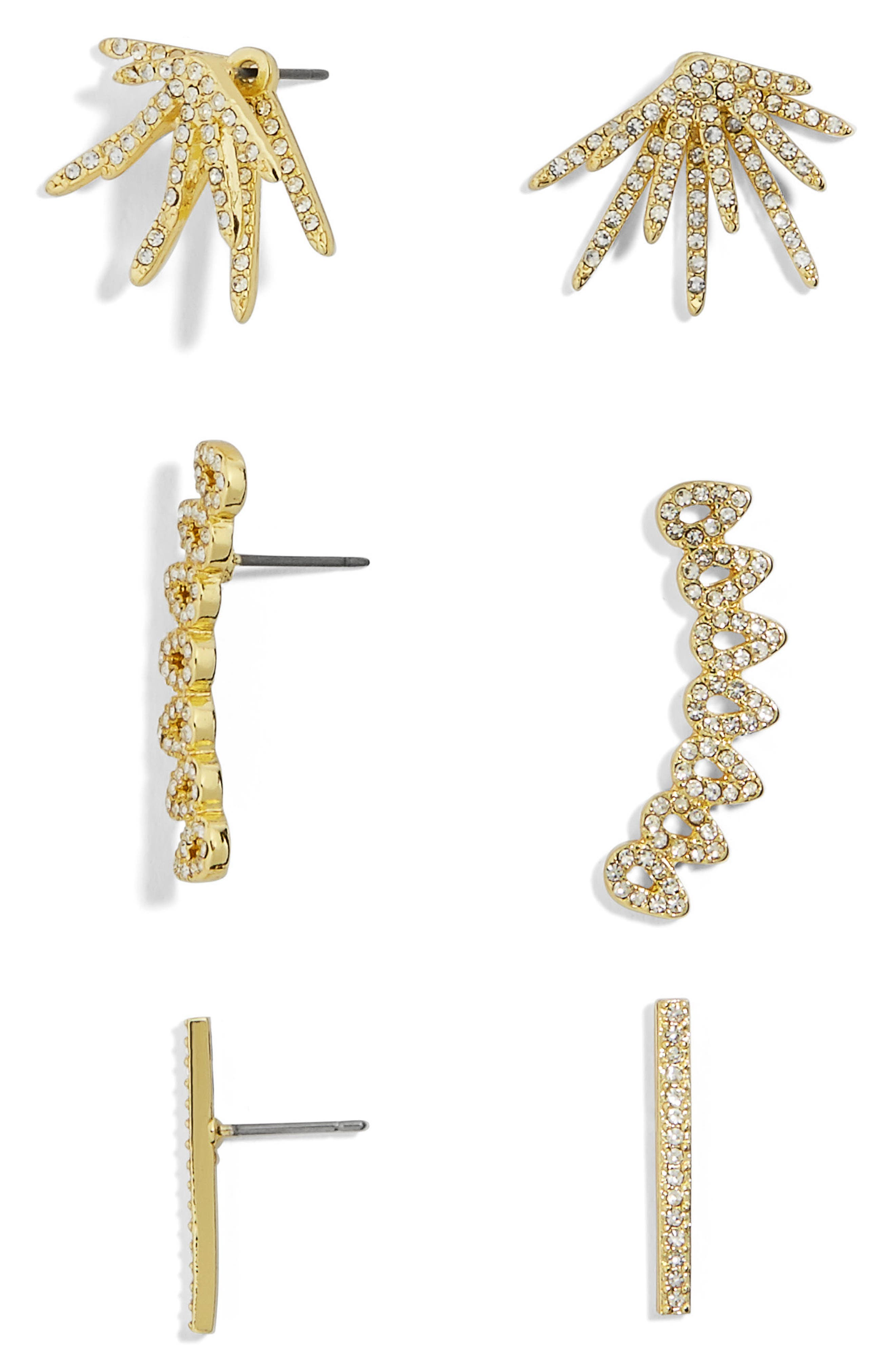 BAUBLEBAR, Cesa Trio Earrings Set, Main thumbnail 1, color, 710