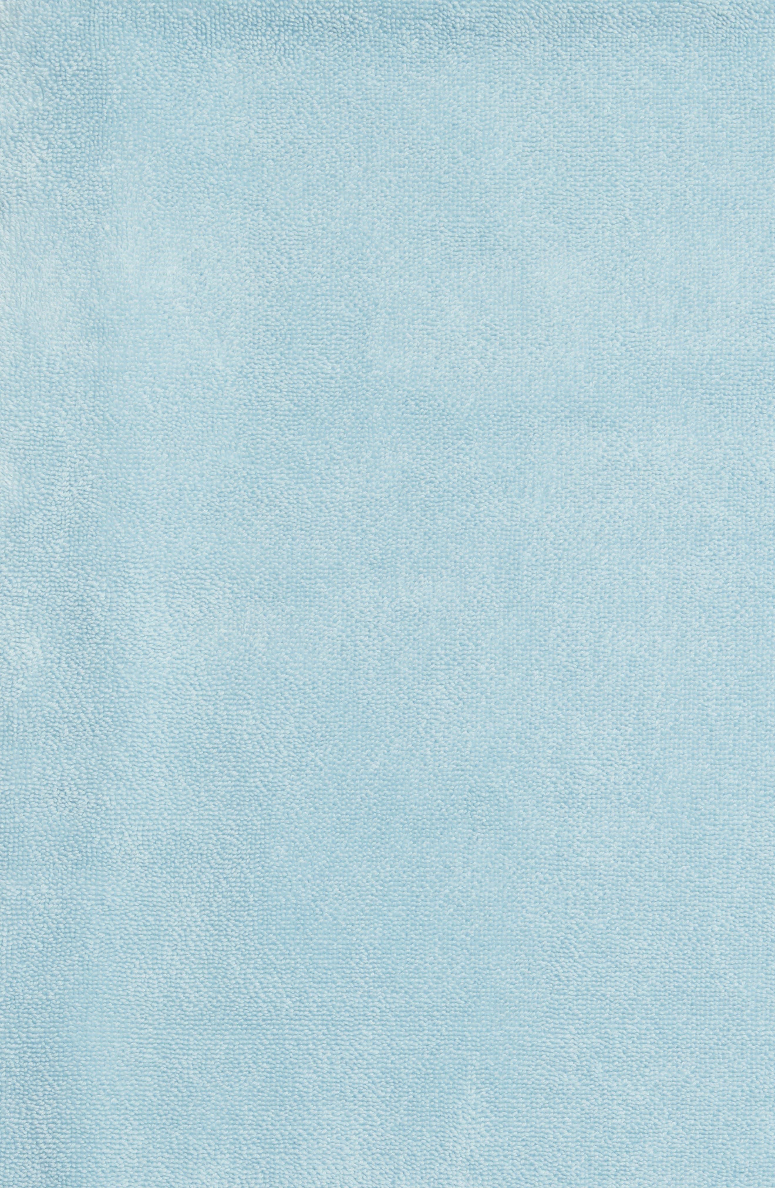 WATERWORKS STUDIO, 'Perennial' Turkish Cotton Bath Towel, Alternate thumbnail 3, color, CHRYSTAL BLUE
