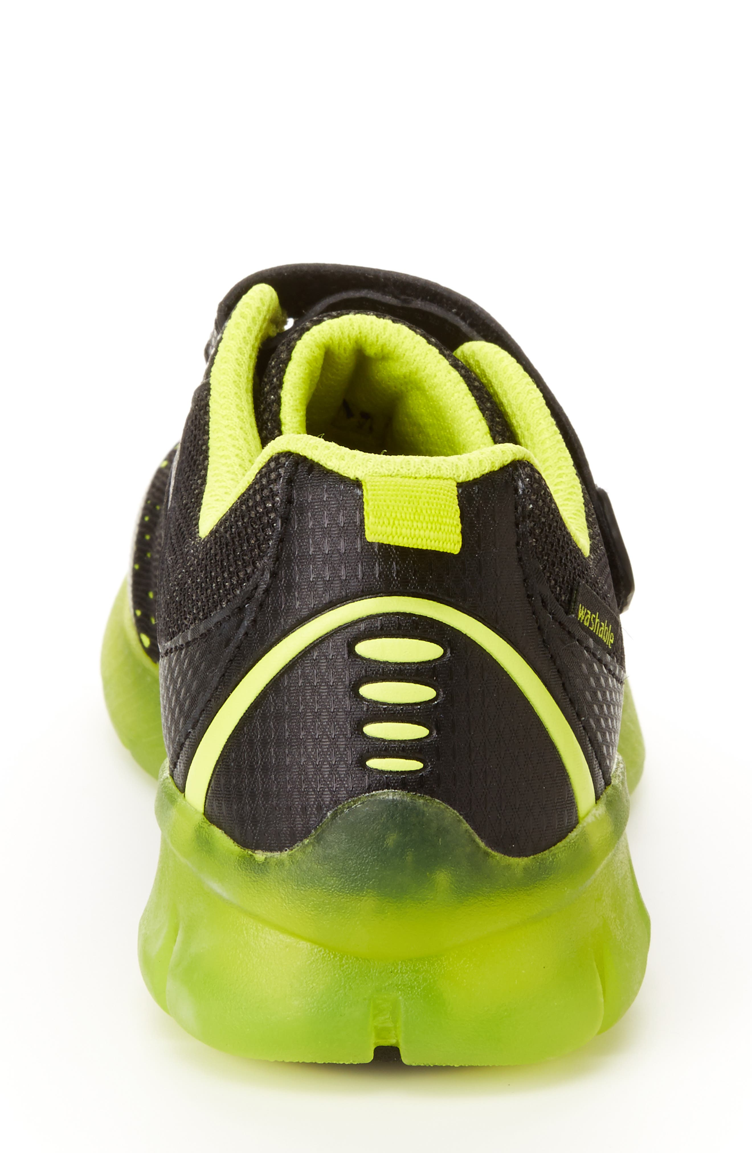 STRIDE RITE, Made2Play<sup>®</sup> Neo Light-Up Sneaker, Alternate thumbnail 8, color, 002