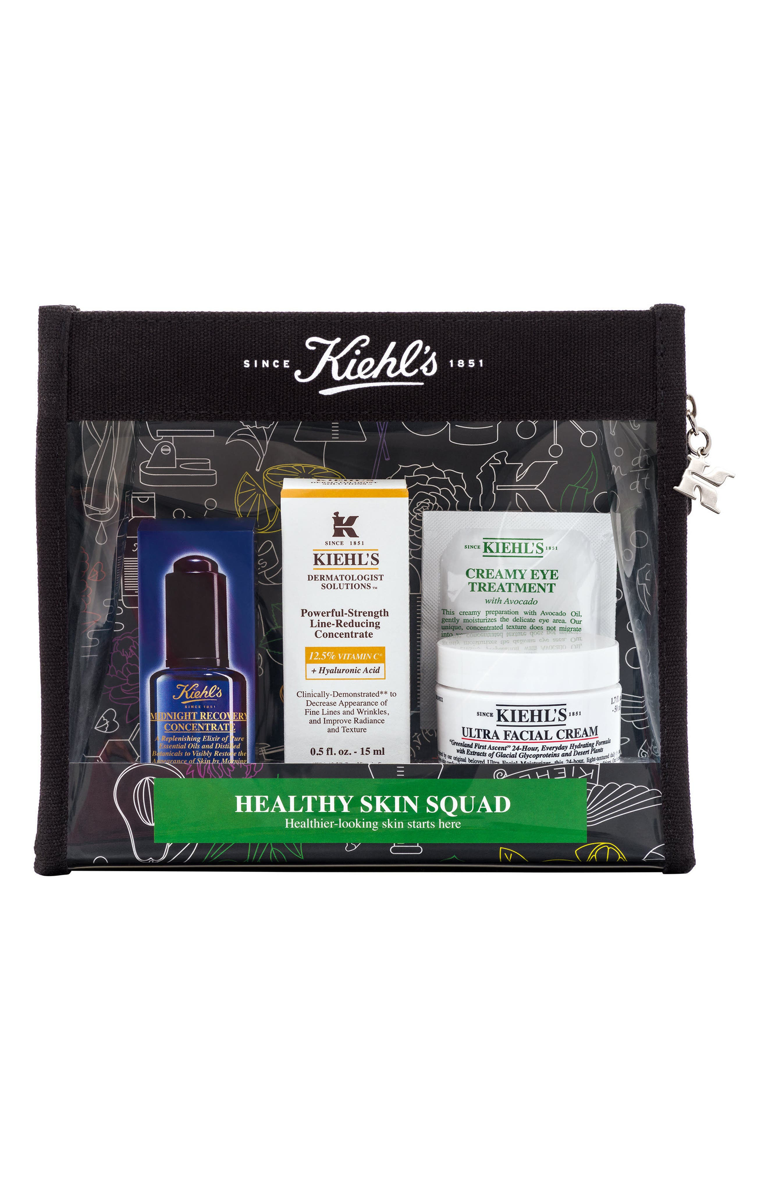 KIEHL'S SINCE 1851, Healthy Skin Squad Set, Main thumbnail 1, color, 000