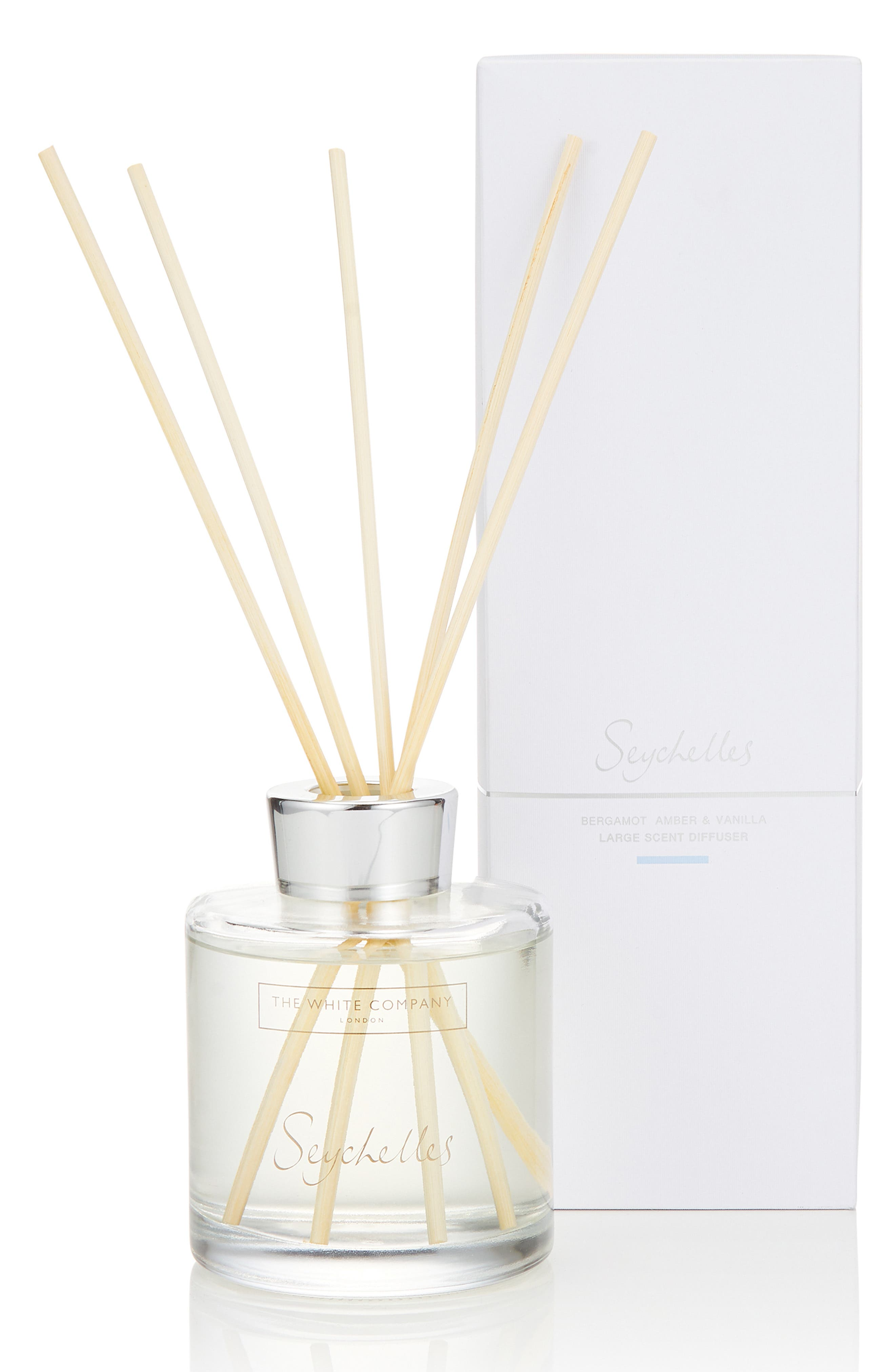 THE WHITE COMPANY, Large Home Fragrance Diffuser, Main thumbnail 1, color, SEYCHELLES