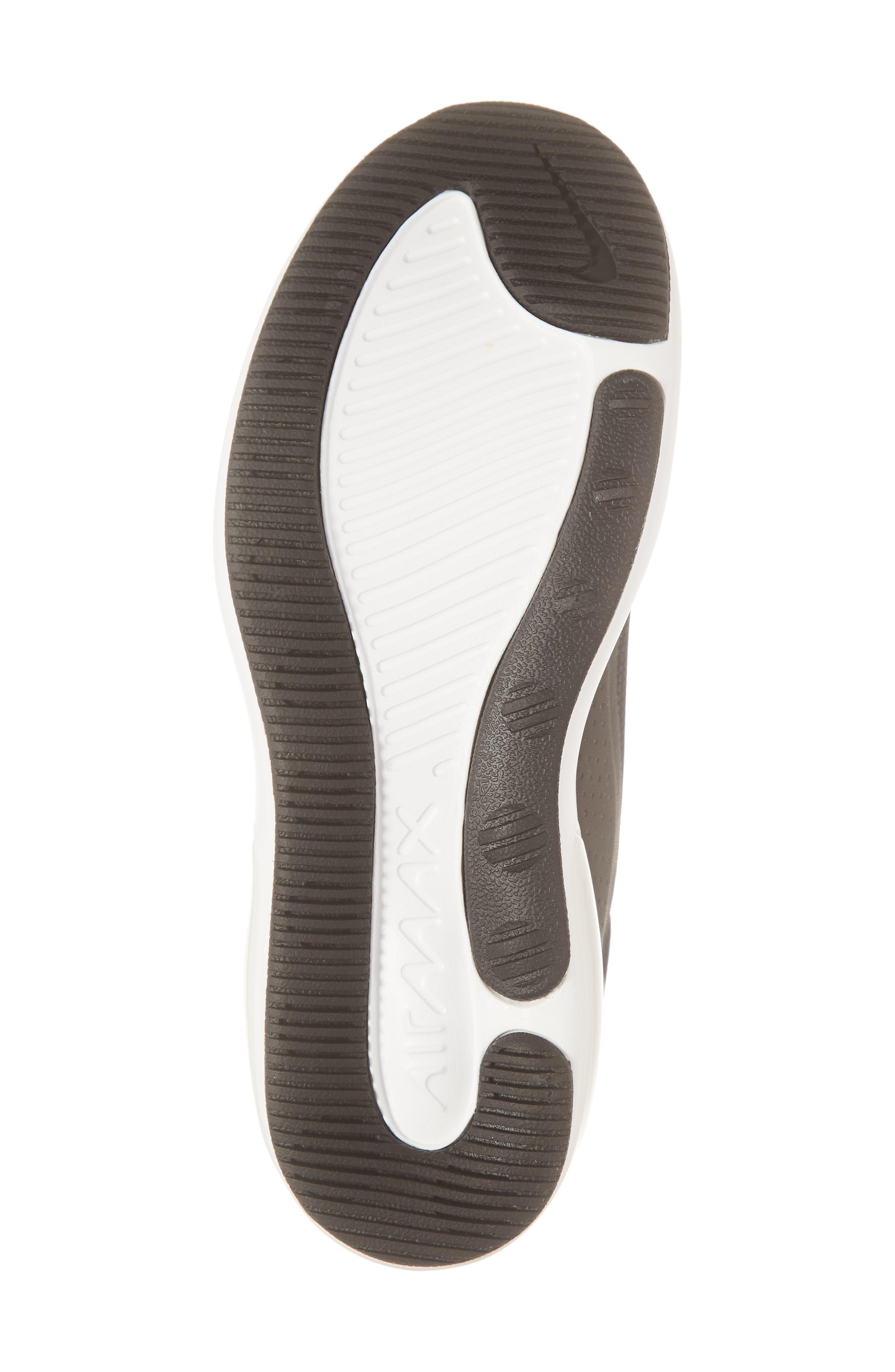 NIKE, Air Max Dia Sneaker, Alternate thumbnail 6, color, BLACK/ SUMMIT WHITE