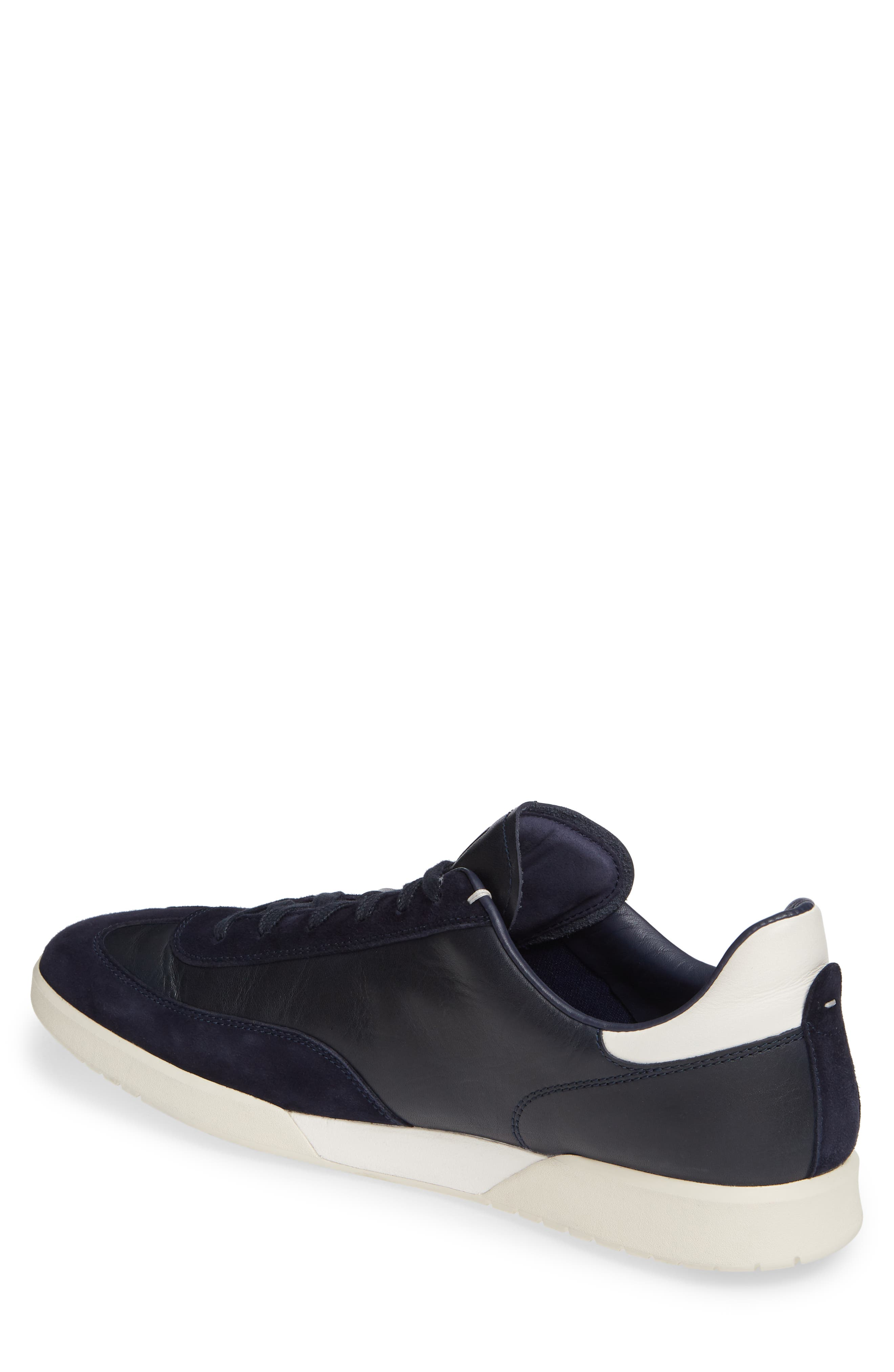 COLE HAAN, GrandPro Turf Sneaker, Alternate thumbnail 2, color, NAVY INK LEATHER