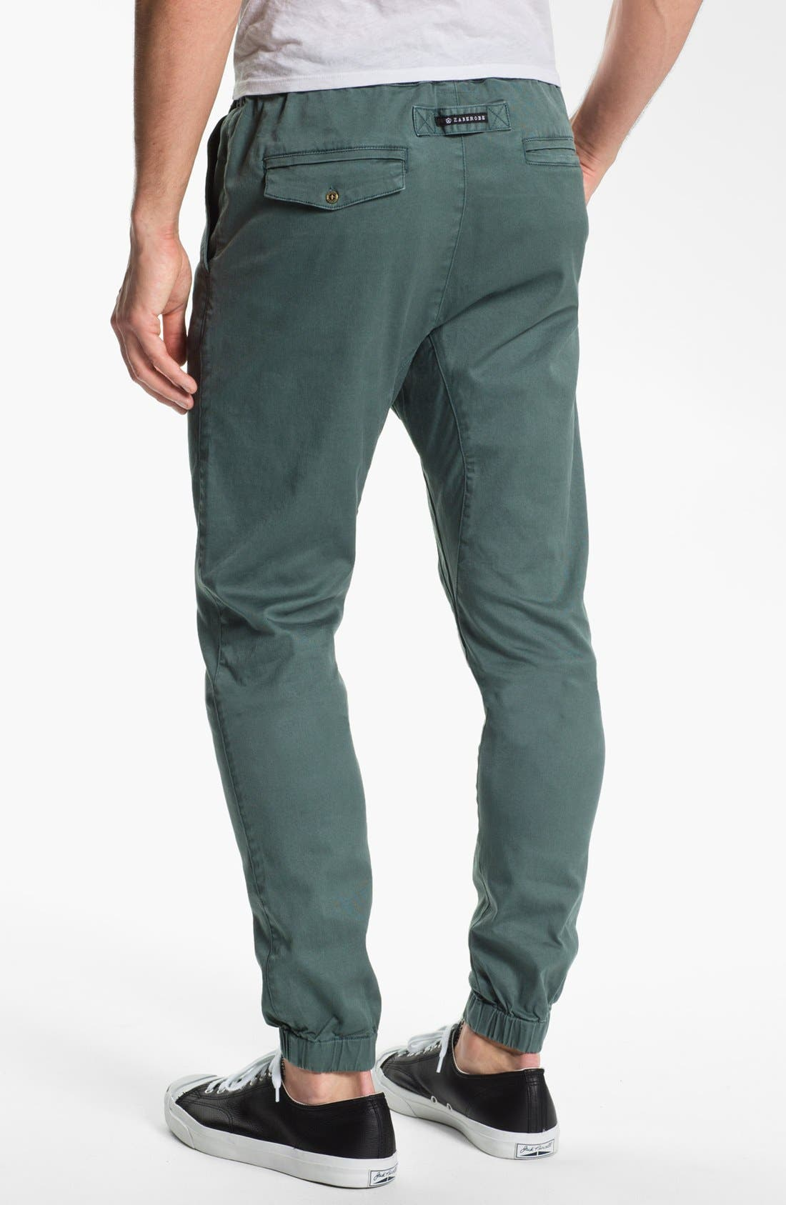 ZANEROBE, 'Sureshot' Slim Tapered Leg Jogger Pants, Alternate thumbnail 4, color, 460
