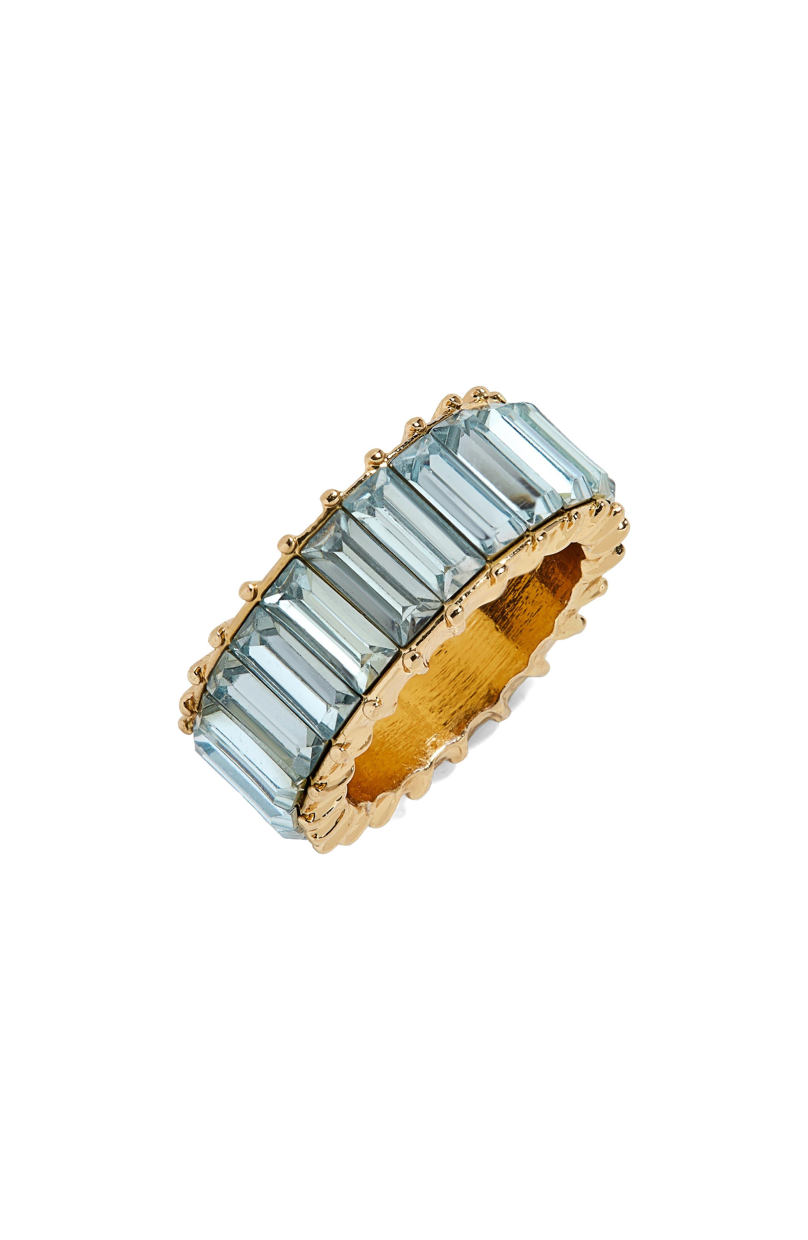 BAUBLEBAR, Alidia Ring, Main thumbnail 1, color, LIGHT BLUE