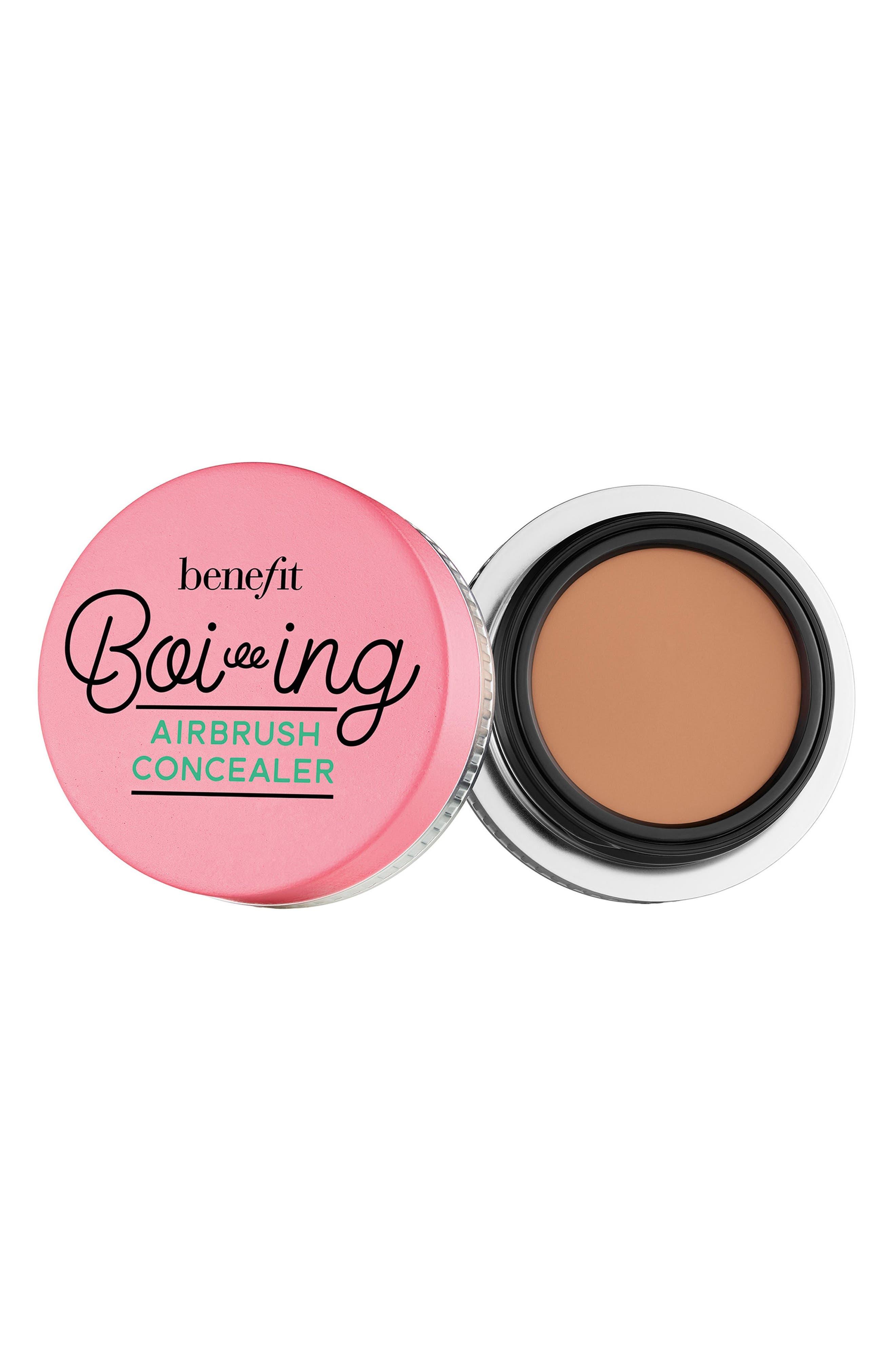 BENEFIT COSMETICS, Benefit Boi-ing Airbrush Concealer, Main thumbnail 1, color, 04 - MEDIUM / TAN