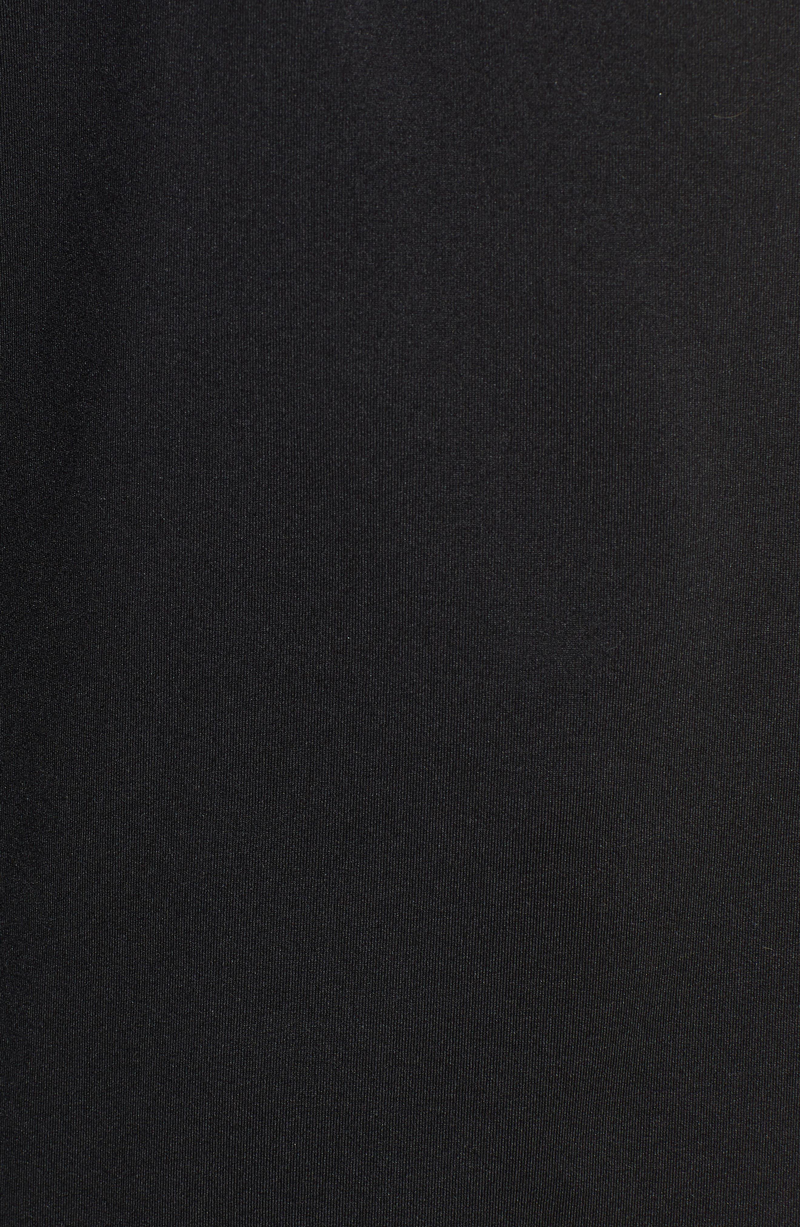 NIKE, Element Long-Sleeve Running Top, Alternate thumbnail 6, color, BLACK