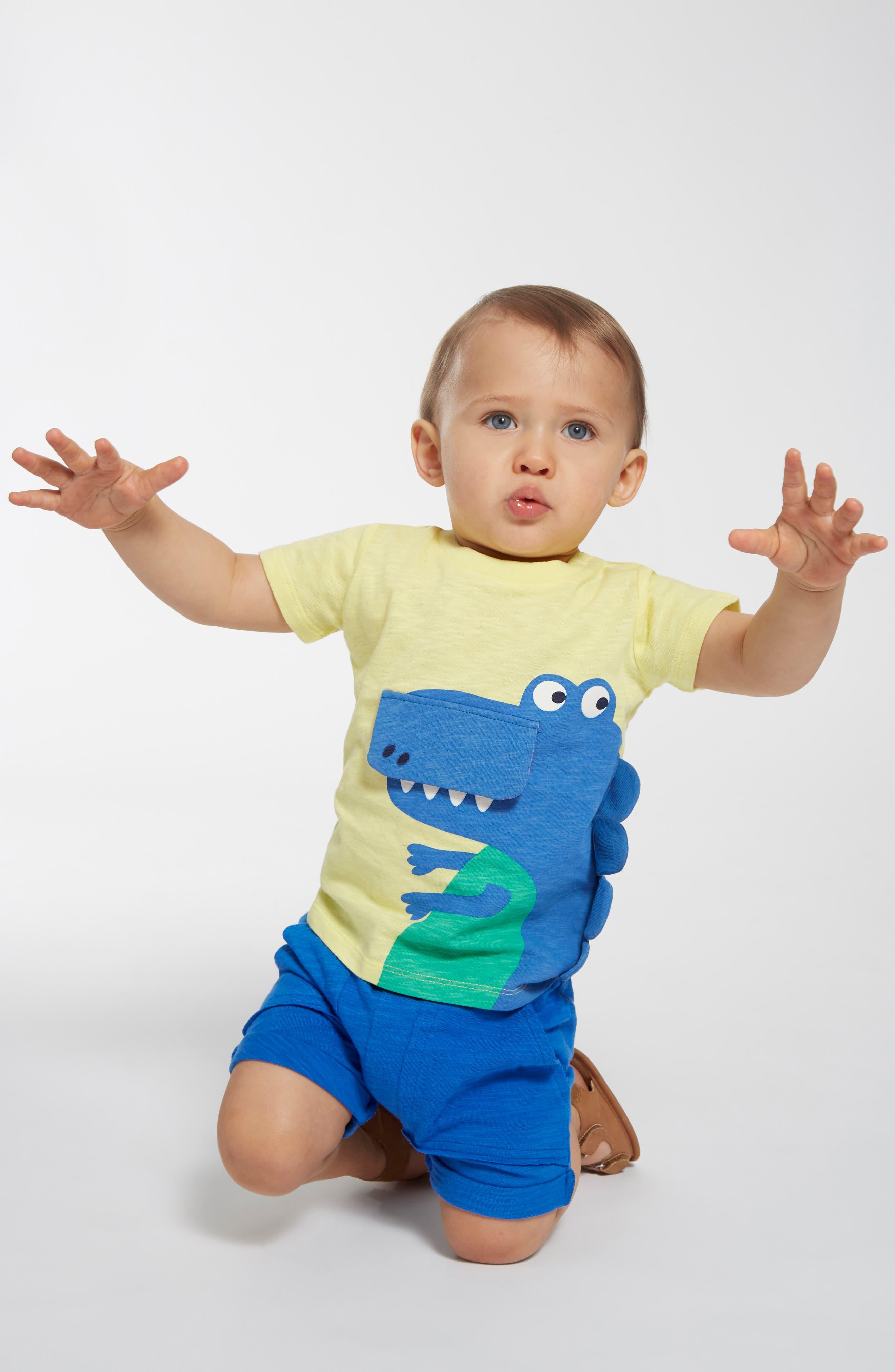 SEED HERITAGE, Dino Flip T-Shirt, Alternate thumbnail 2, color, 700
