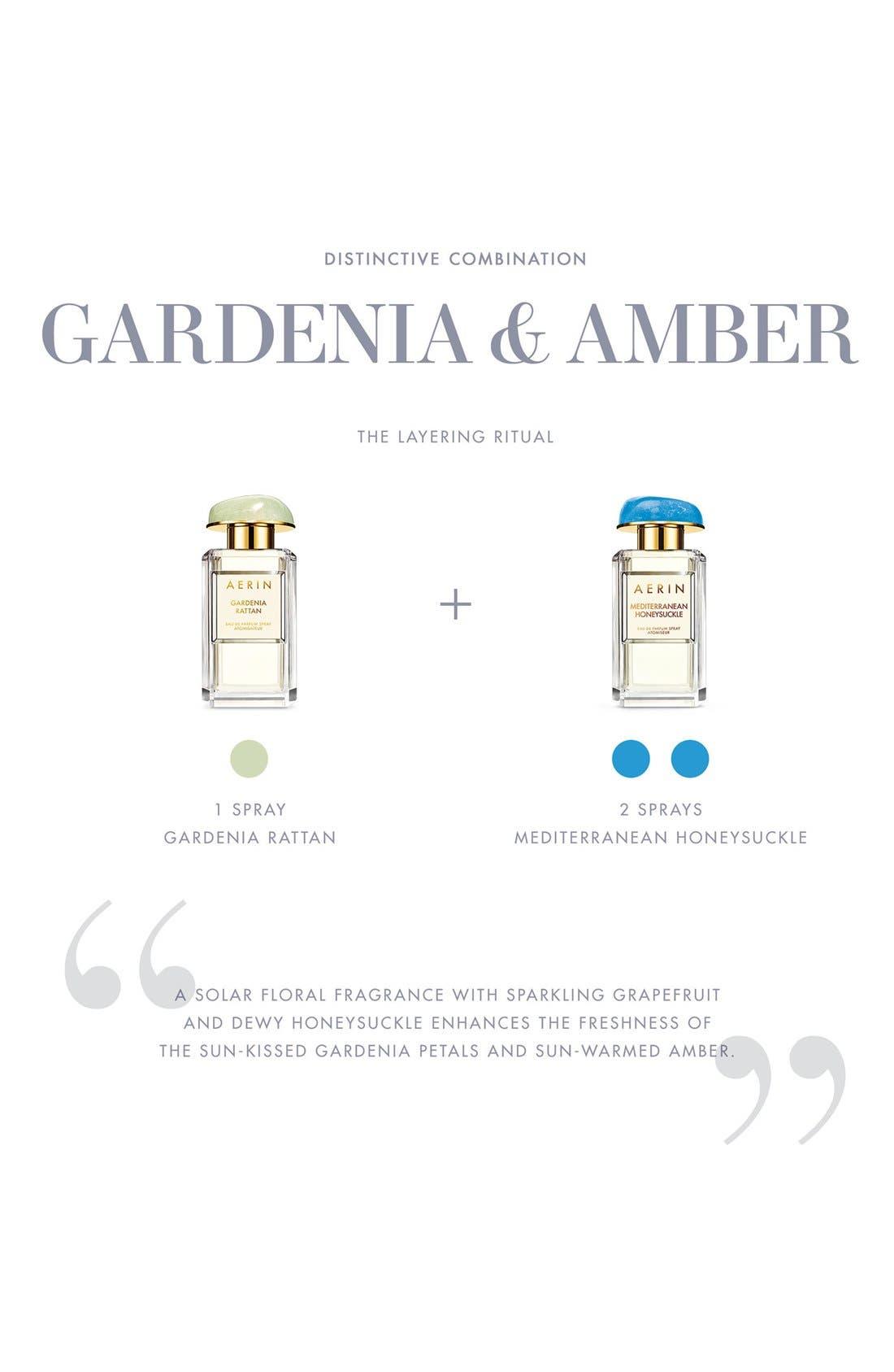 ESTÉE LAUDER, AERIN Beauty Gardenia Rattan Eau de Parfum Spray, Alternate thumbnail 5, color, NO COLOR