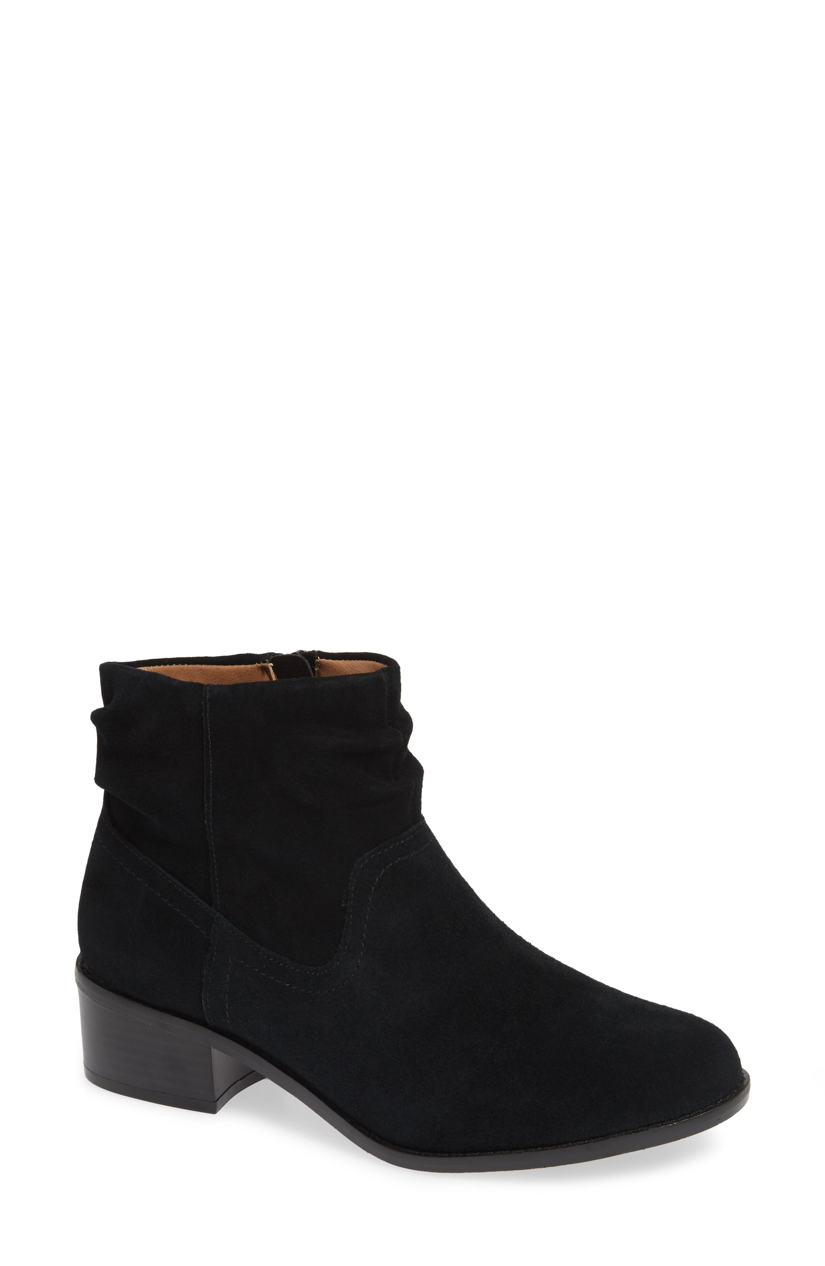 Vionic Kanela Low Slouchy Bootie- Black