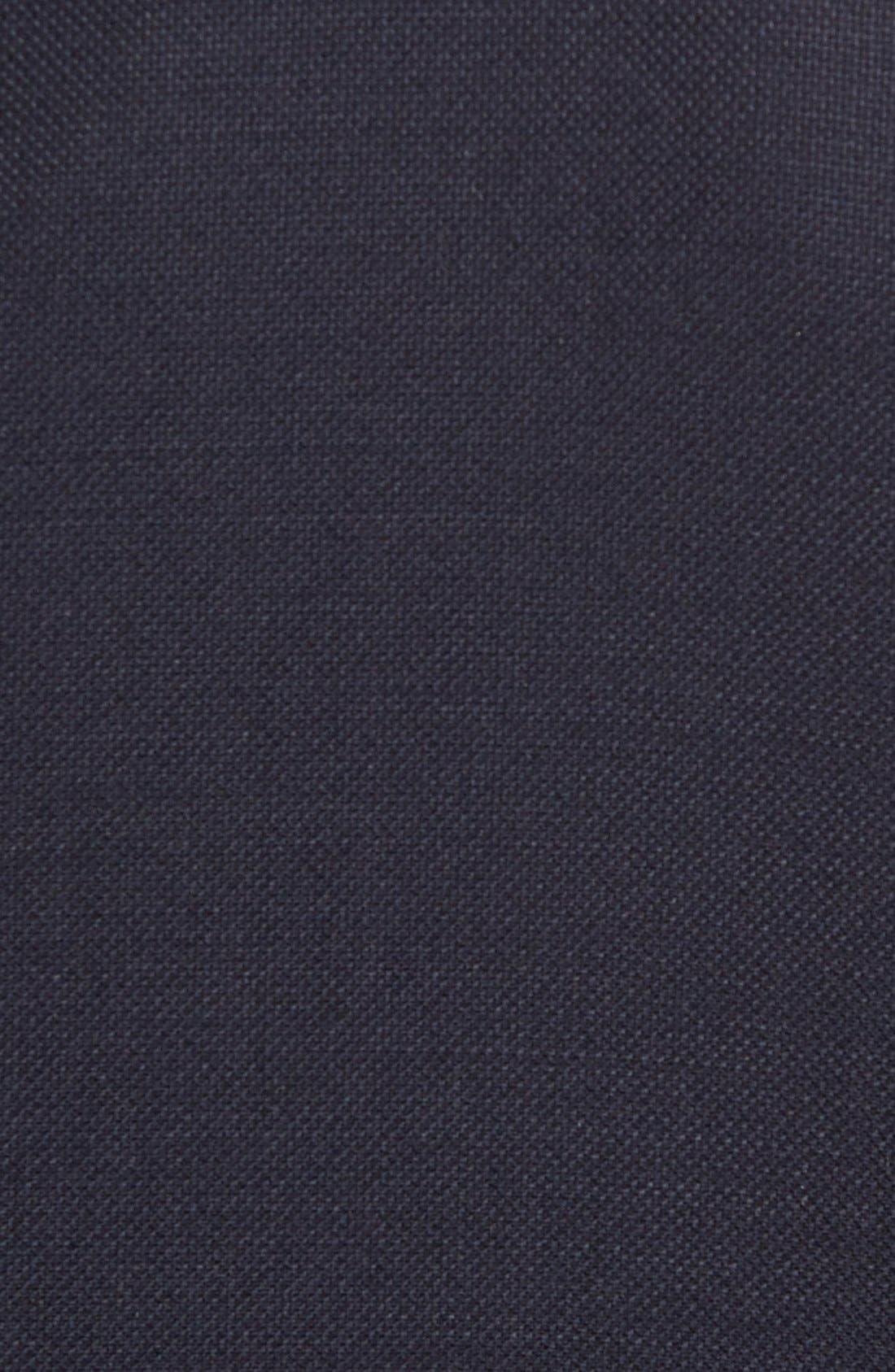 HART SCHAFFNER MARX, New York Classic Fit Wool Blend Blazer, Alternate thumbnail 11, color, NAVY