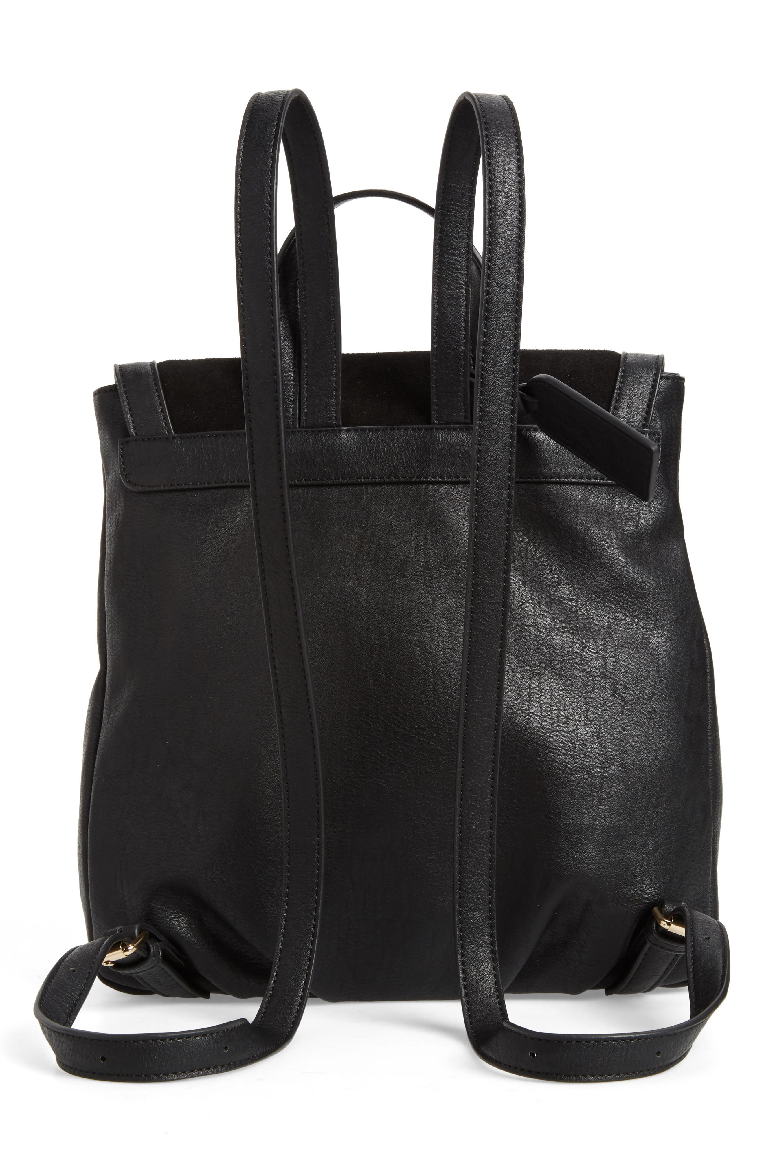 SOLE SOCIETY, Chele Backpack, Alternate thumbnail 4, color, 001