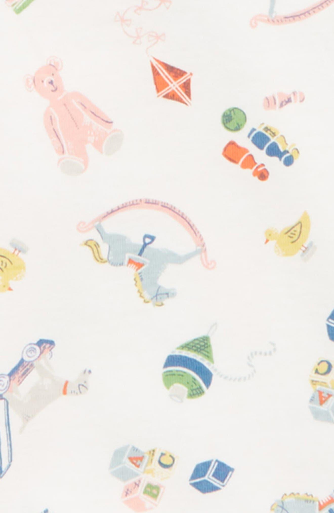 MINI BODEN, 3-Pack Organic Cotton Bodysuits, Alternate thumbnail 2, color, 902