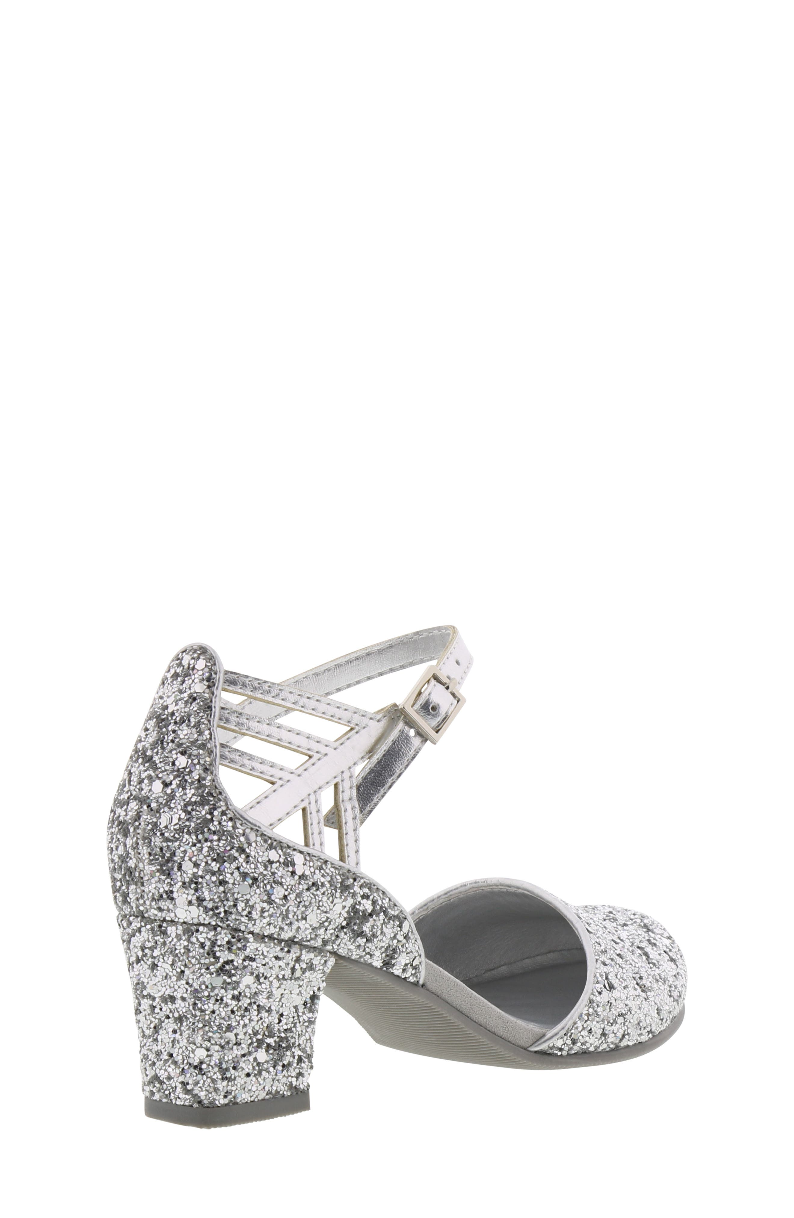 REACTION KENNETH COLE, Kenneth Cole New York Sarah Shine Pump, Alternate thumbnail 2, color, SILVER MULTI